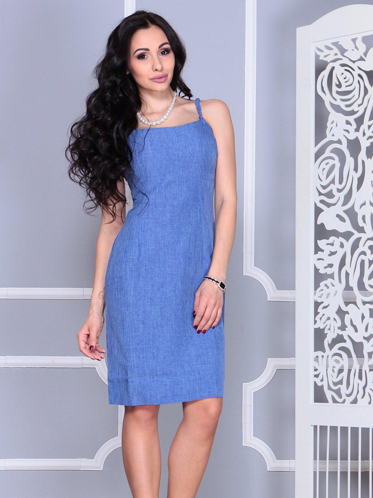 Платье синее   4021154   фото 5