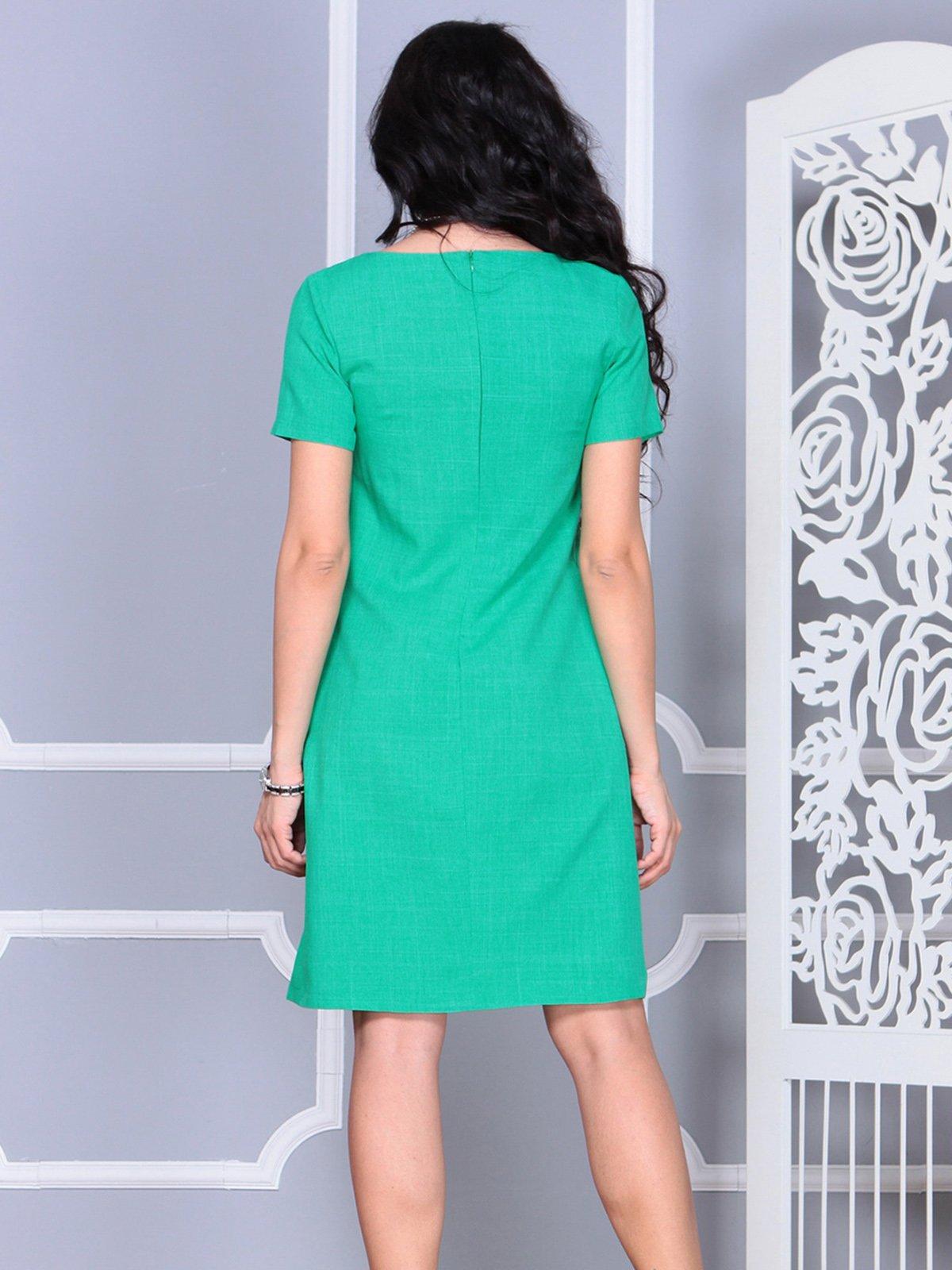 Платье зеленое | 4021159 | фото 2