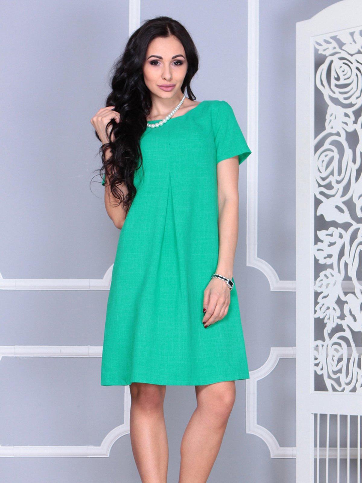 Платье зеленое | 4021159 | фото 3