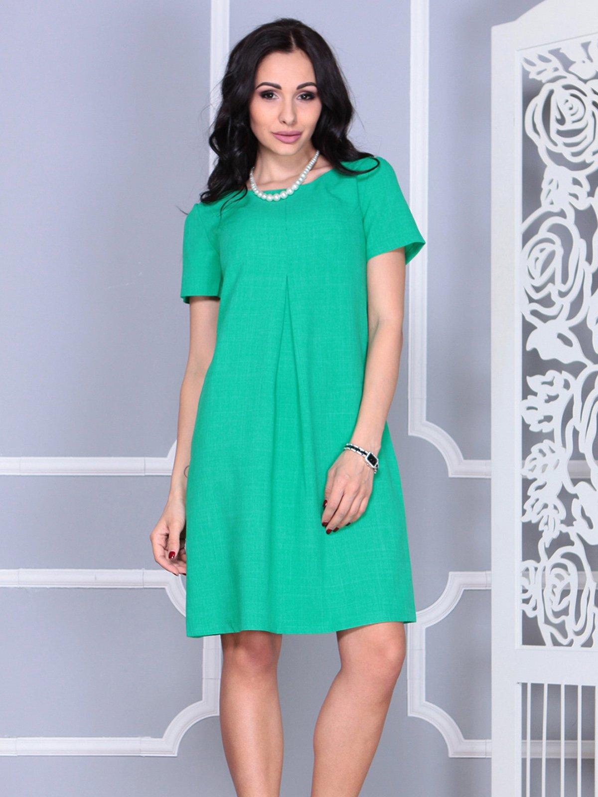 Платье зеленое | 4021159 | фото 5