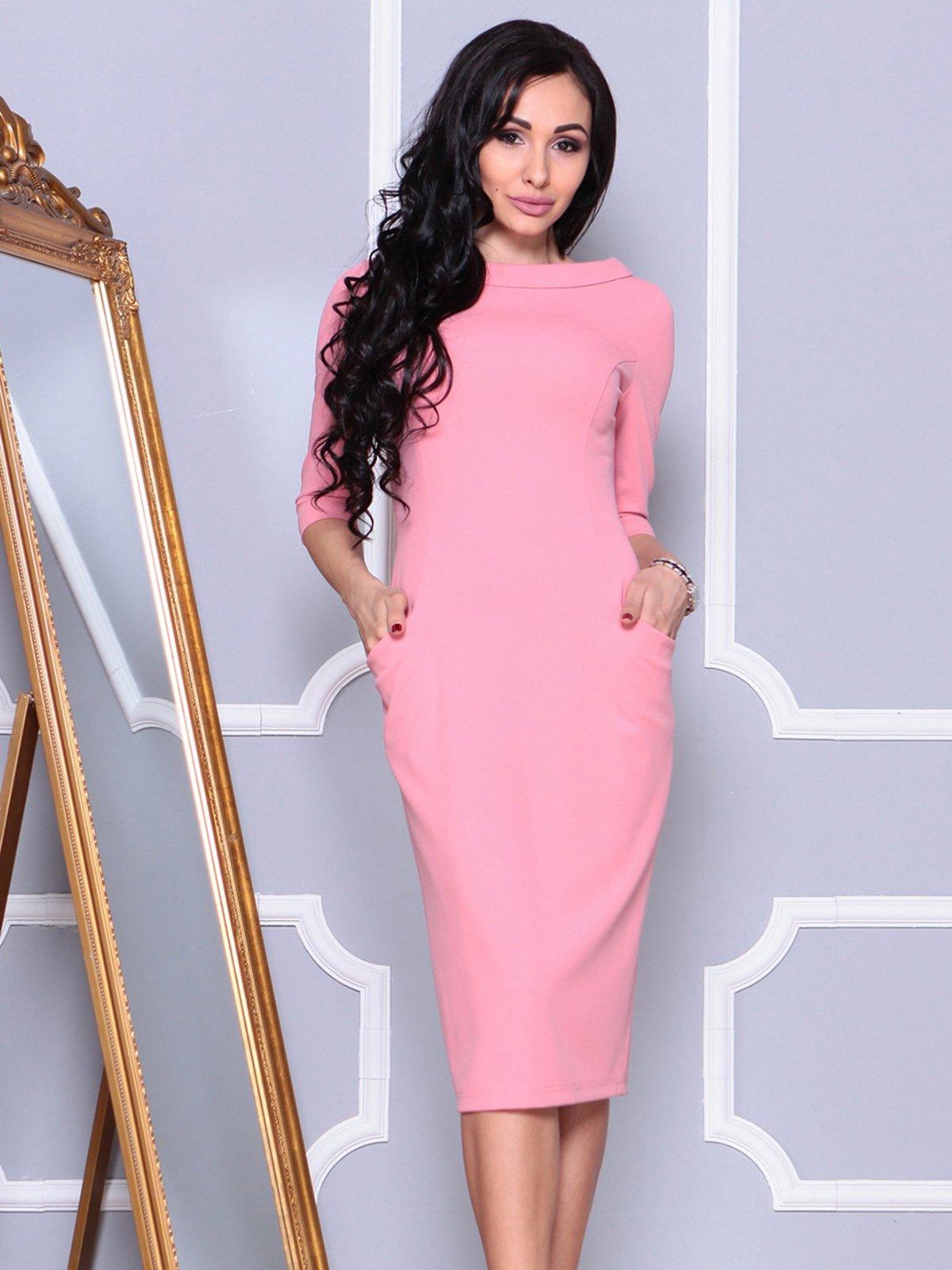 Платье розовое | 4021176