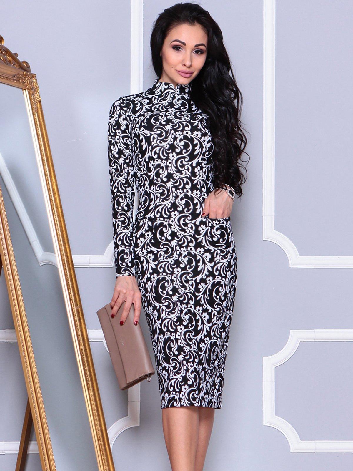 Платье в принт | 4021182