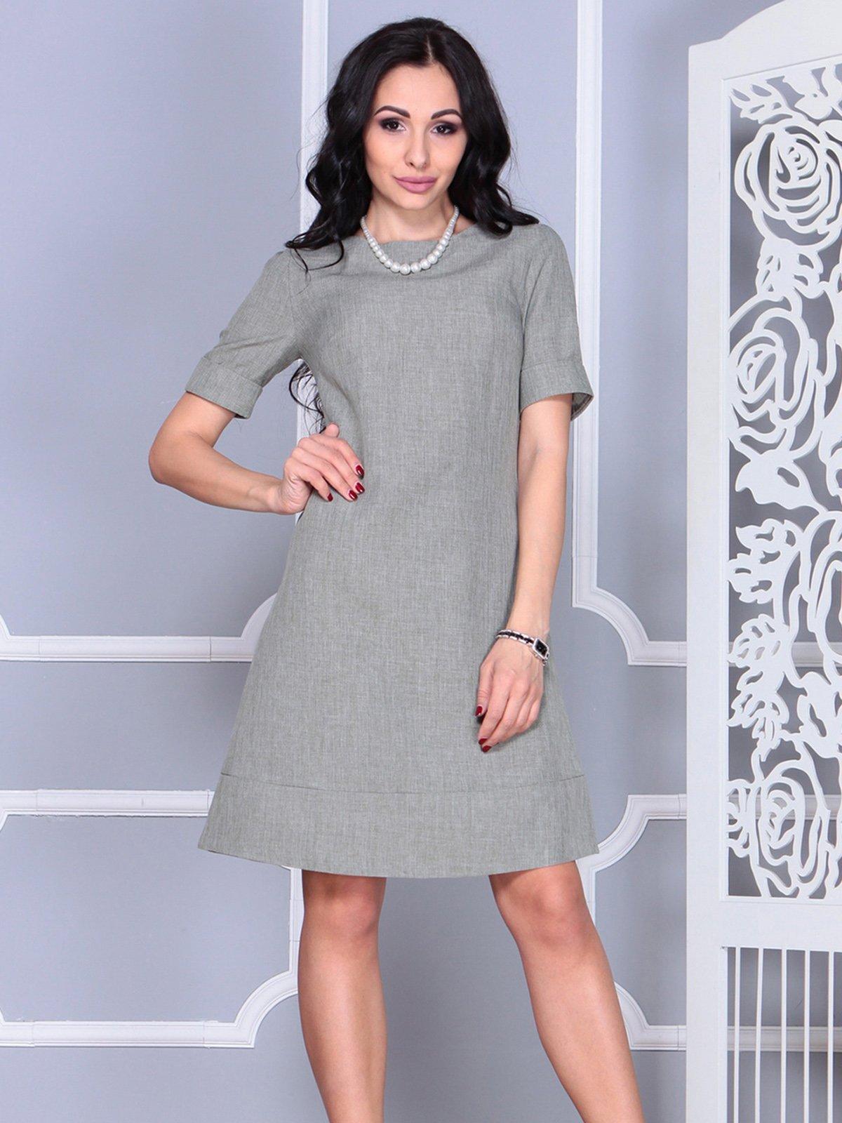 Сукня оливкова | 4021193