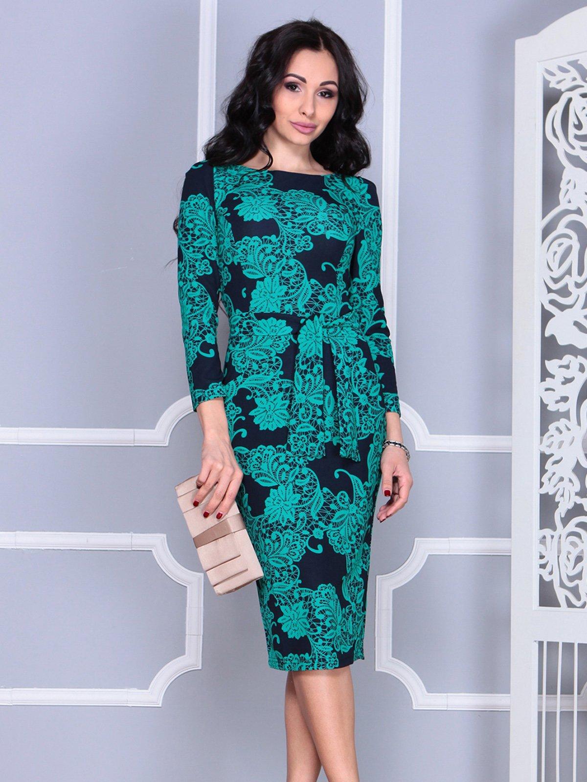 Платье в принт | 4028049