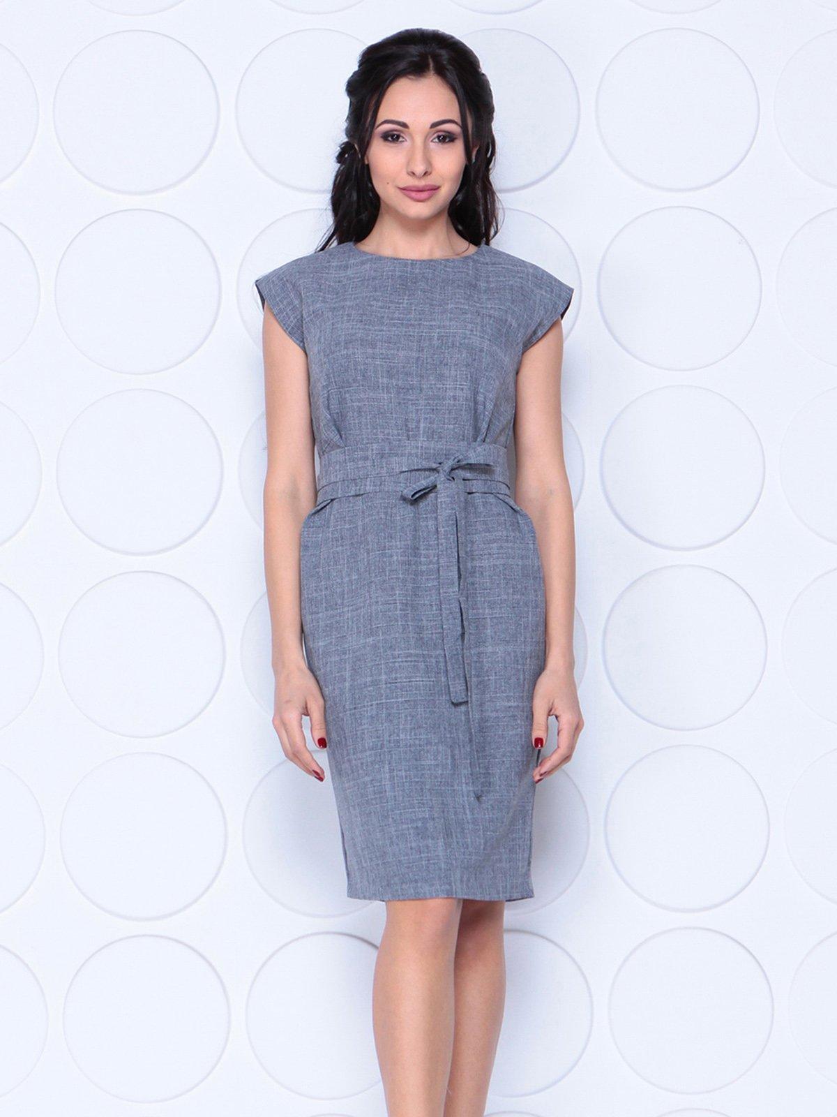 Платье дымчатого цвета | 4028052