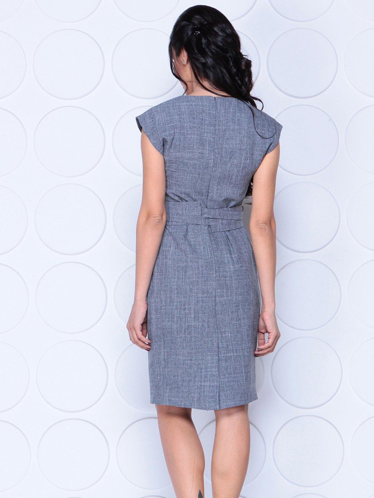 Платье дымчатого цвета | 4028052 | фото 2
