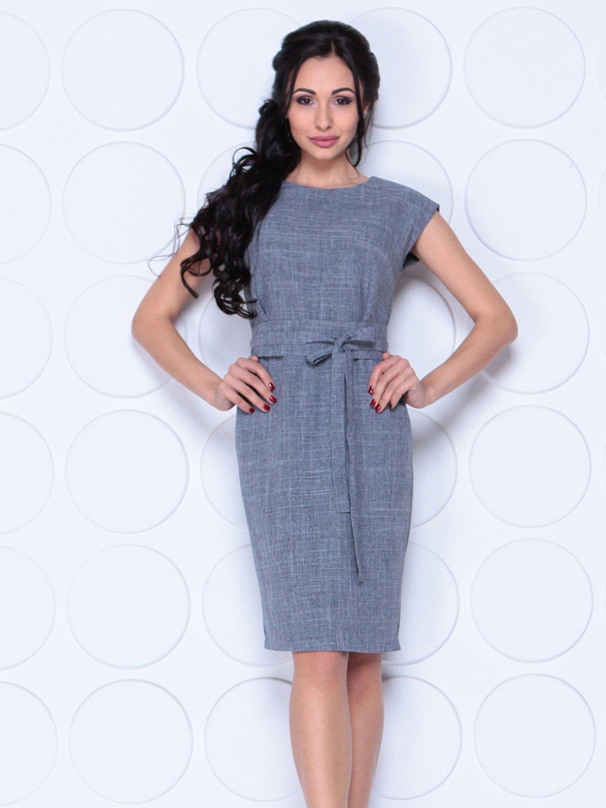 Платье дымчатого цвета | 4028052 | фото 3