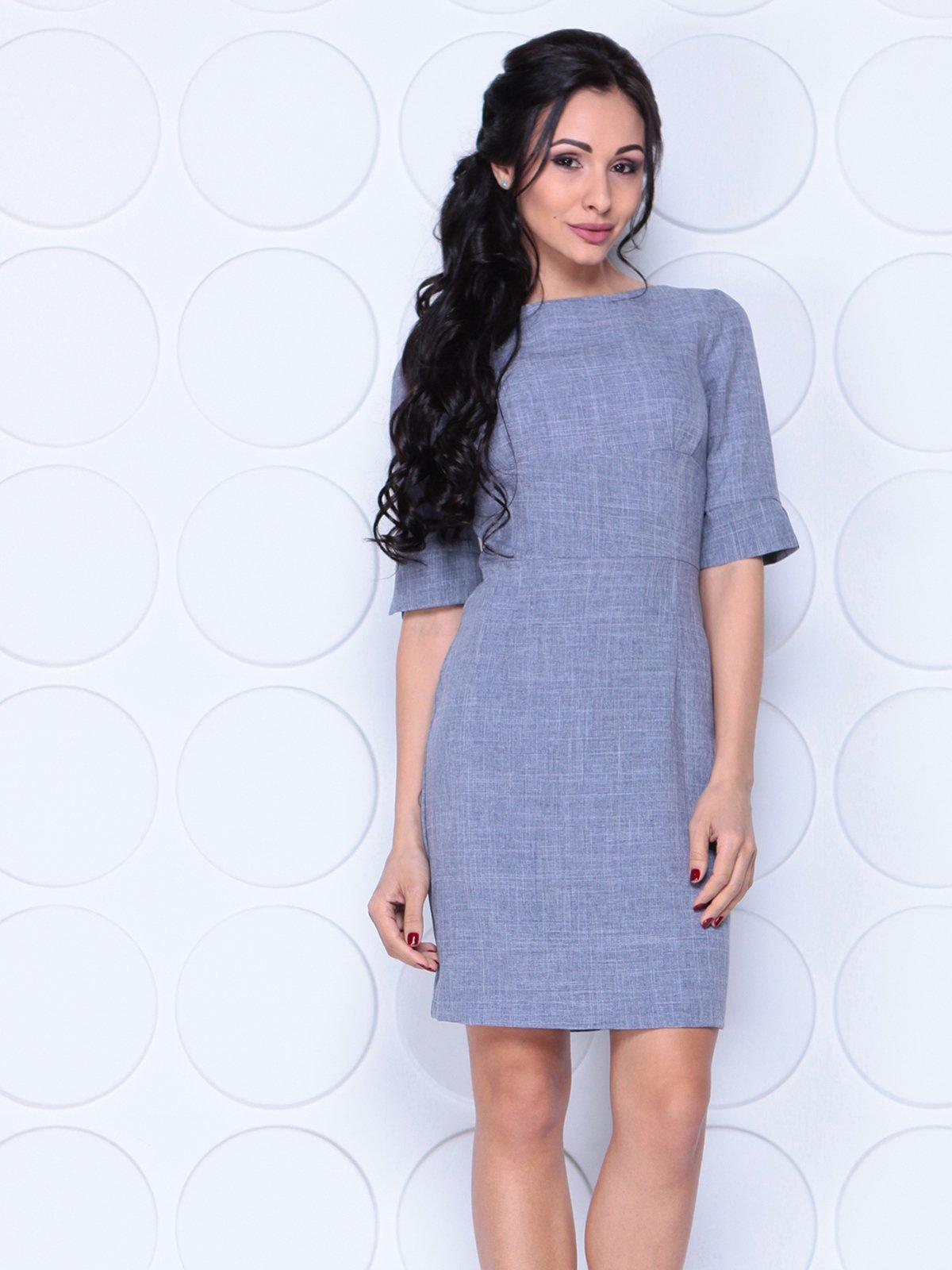 Платье цвета фиолетовой дымки   4028056
