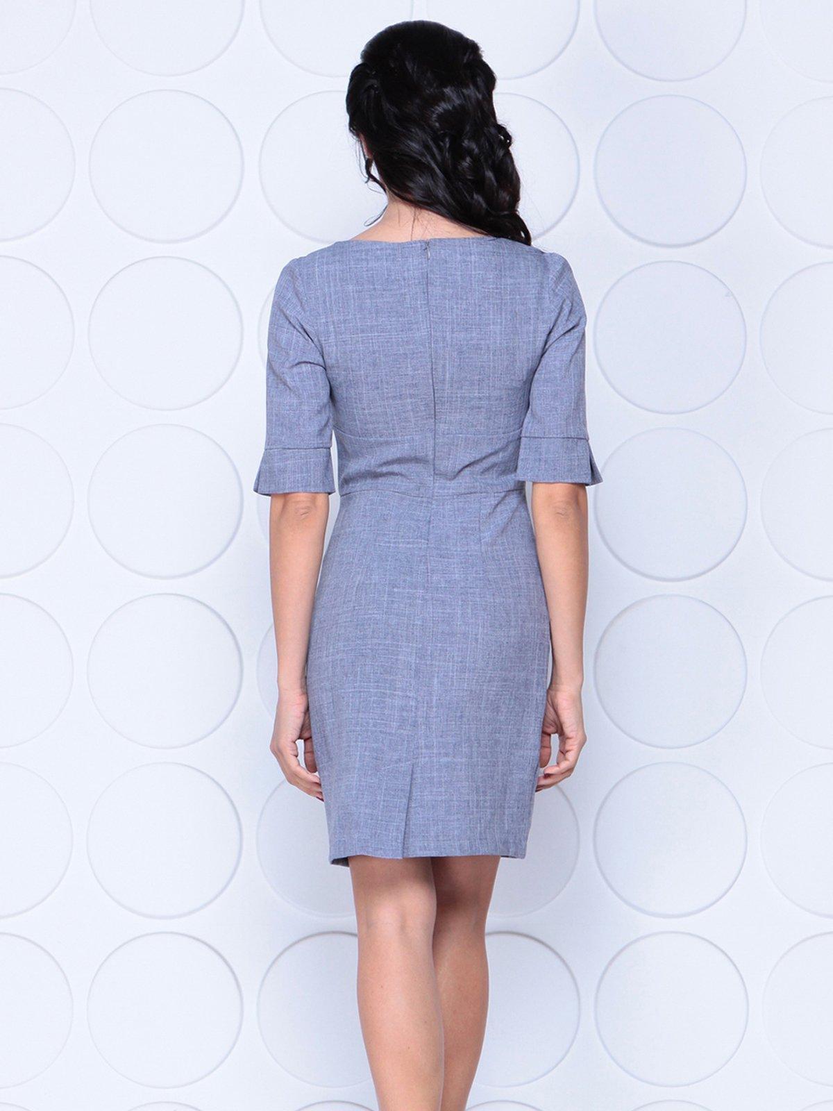 Платье цвета фиолетовой дымки   4028056   фото 2
