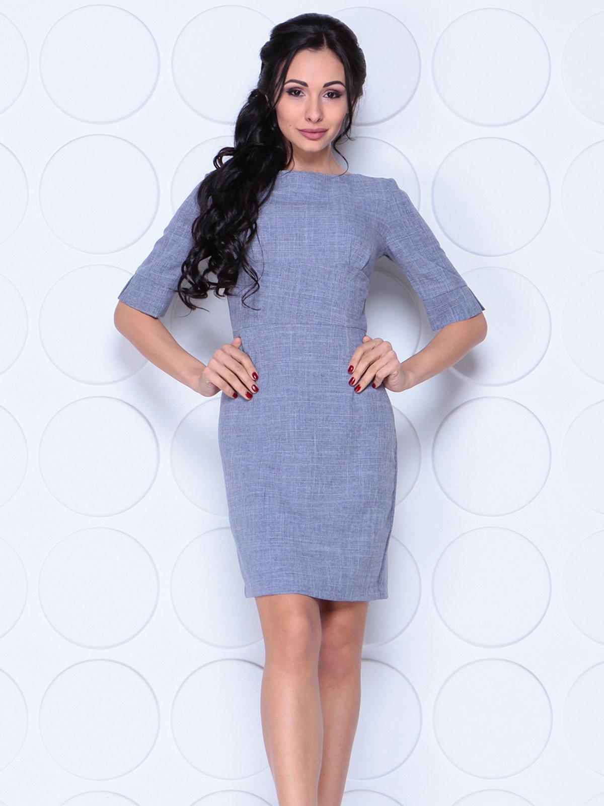 Платье цвета фиолетовой дымки   4028056   фото 3