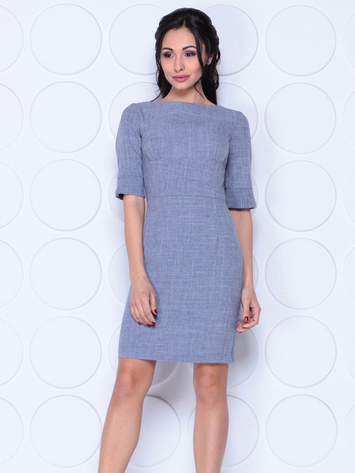 Платье цвета фиолетовой дымки   4028056   фото 4