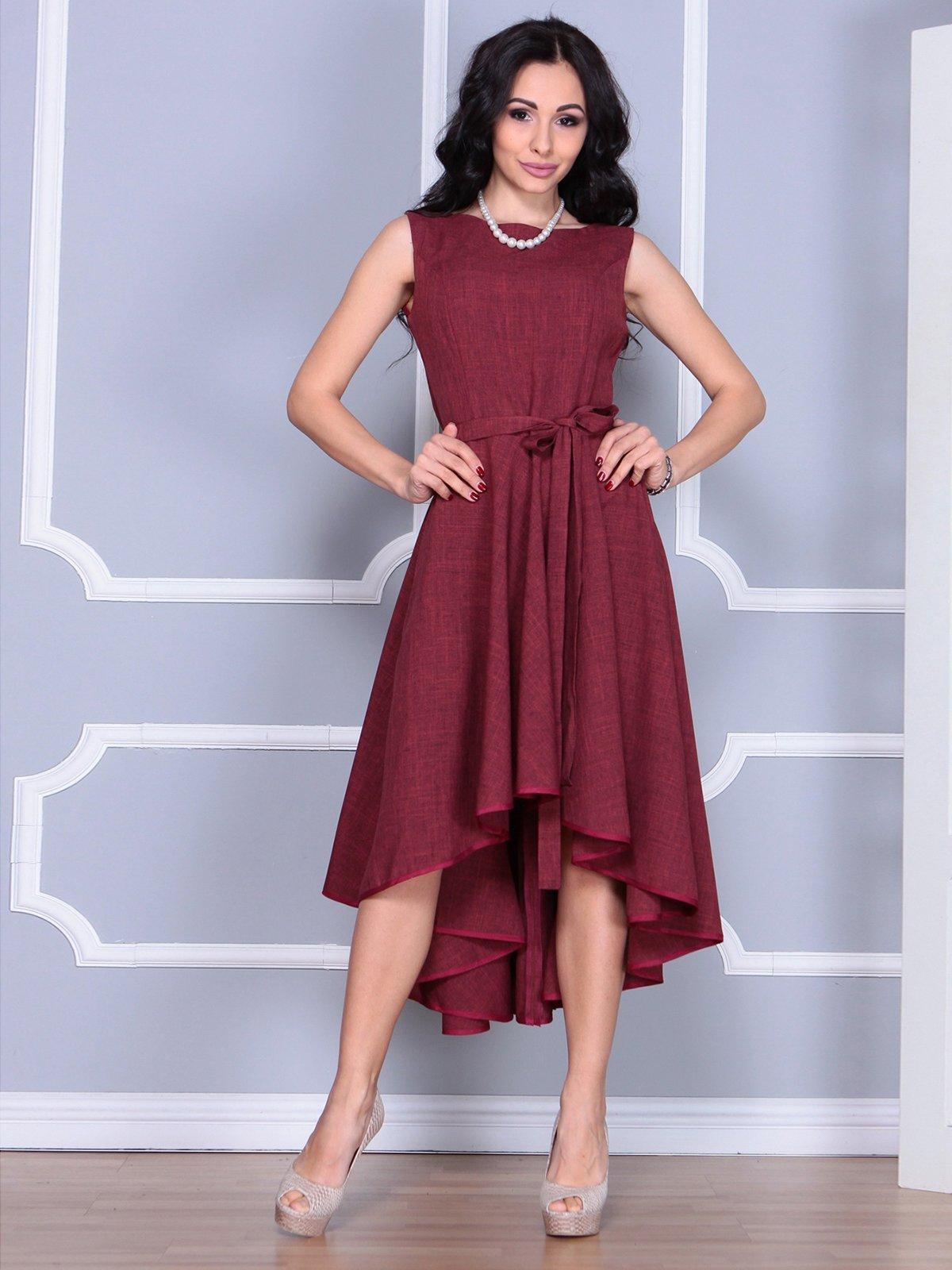 Платье светло-сливовое | 4028061 | фото 3
