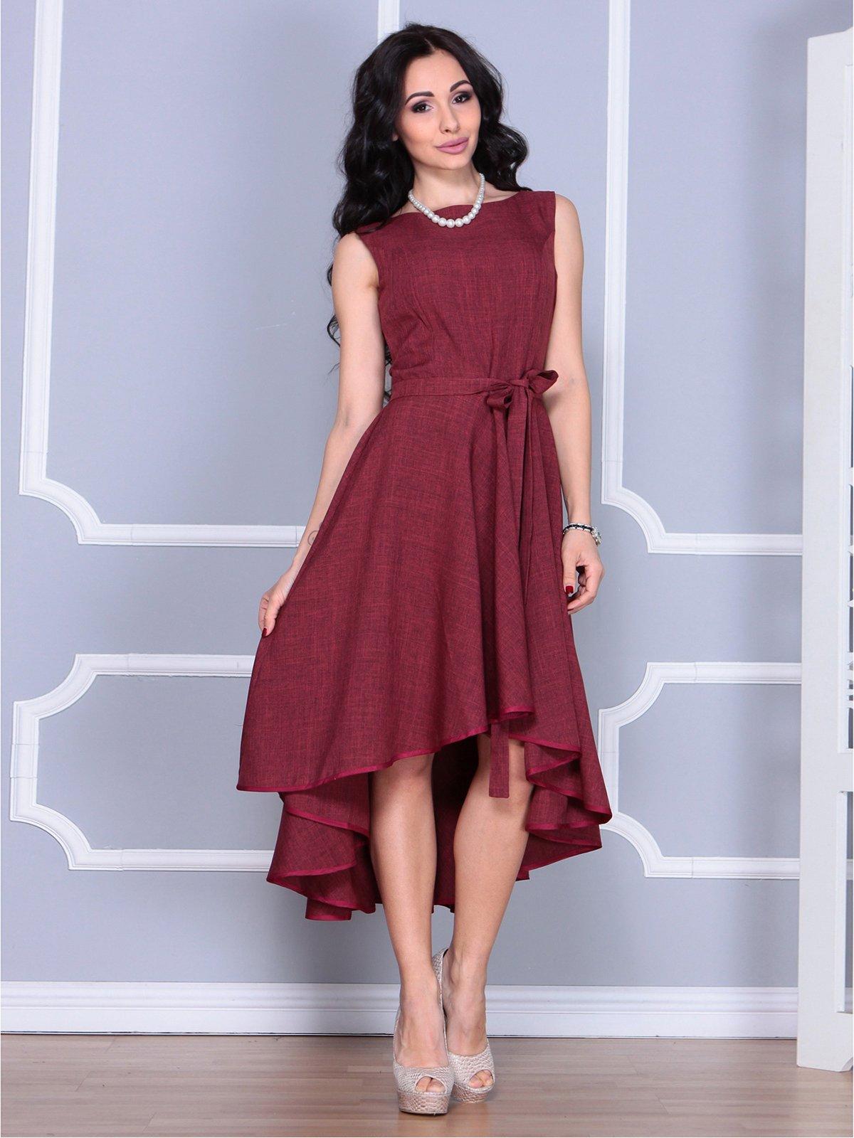 Платье светло-сливовое | 4028061 | фото 4