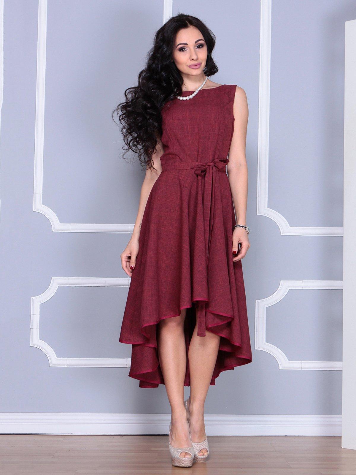 Платье светло-сливовое | 4028061 | фото 5