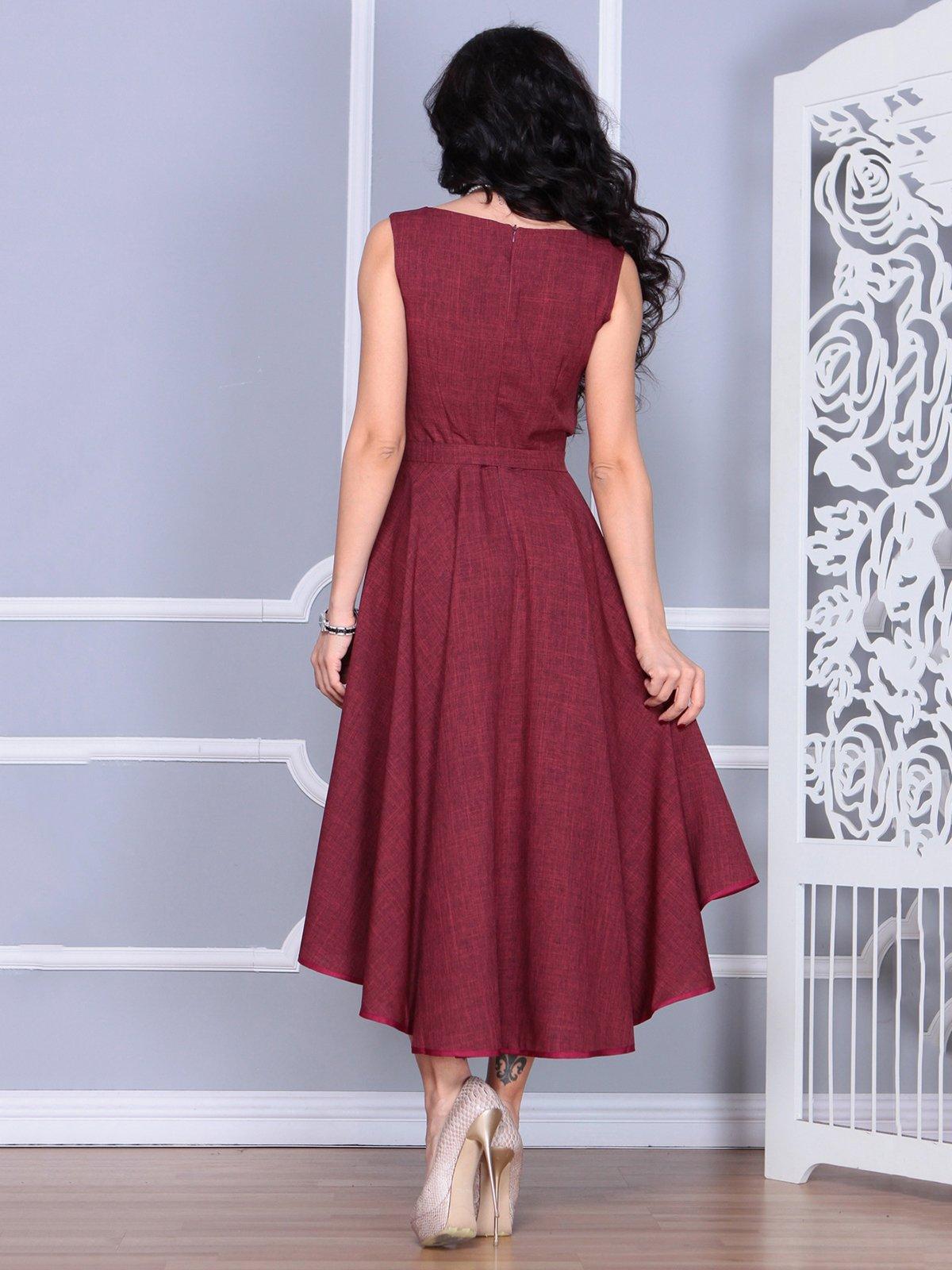 Платье светло-сливовое | 4028061 | фото 2