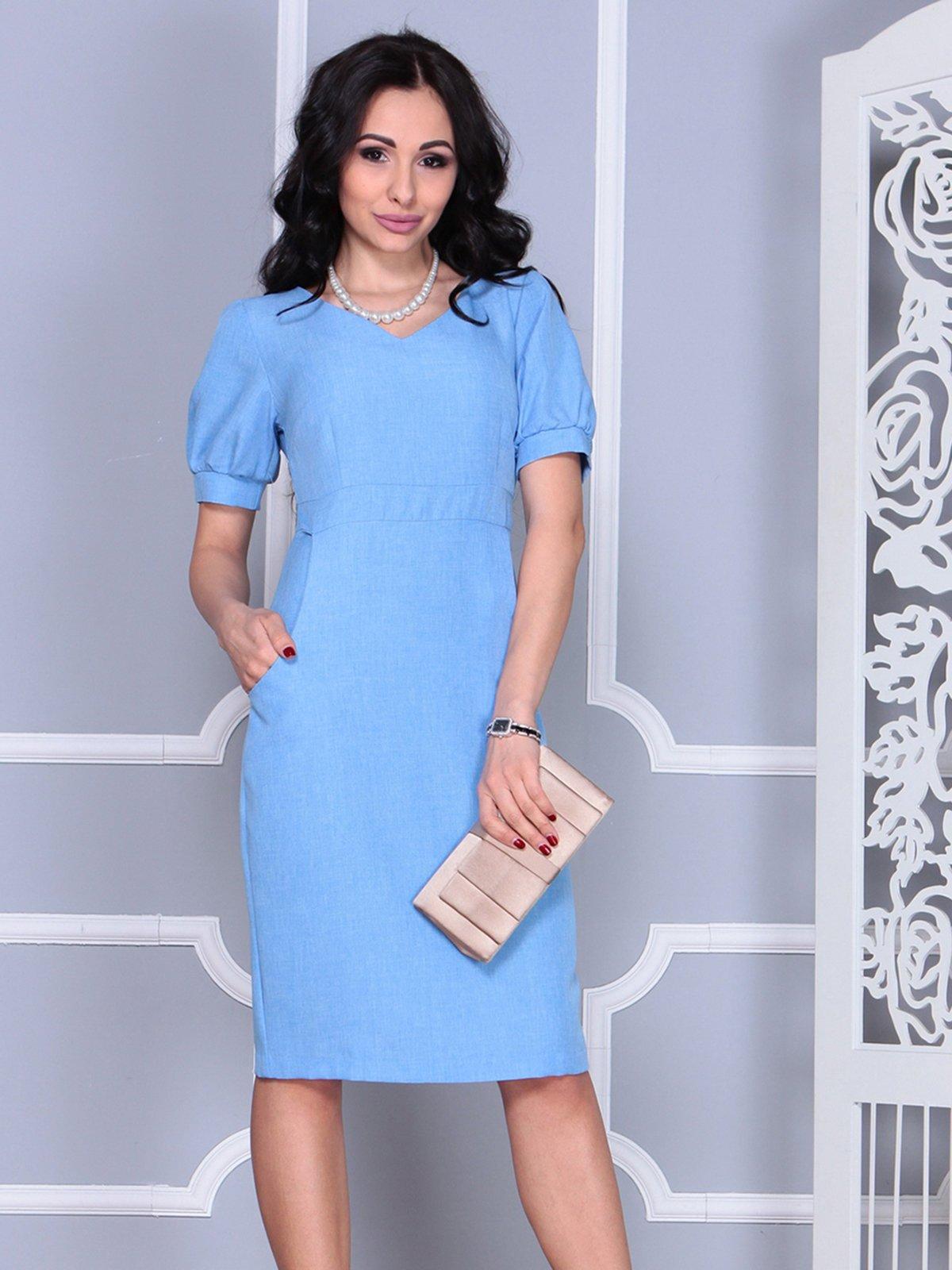 Платье голубое | 4028065
