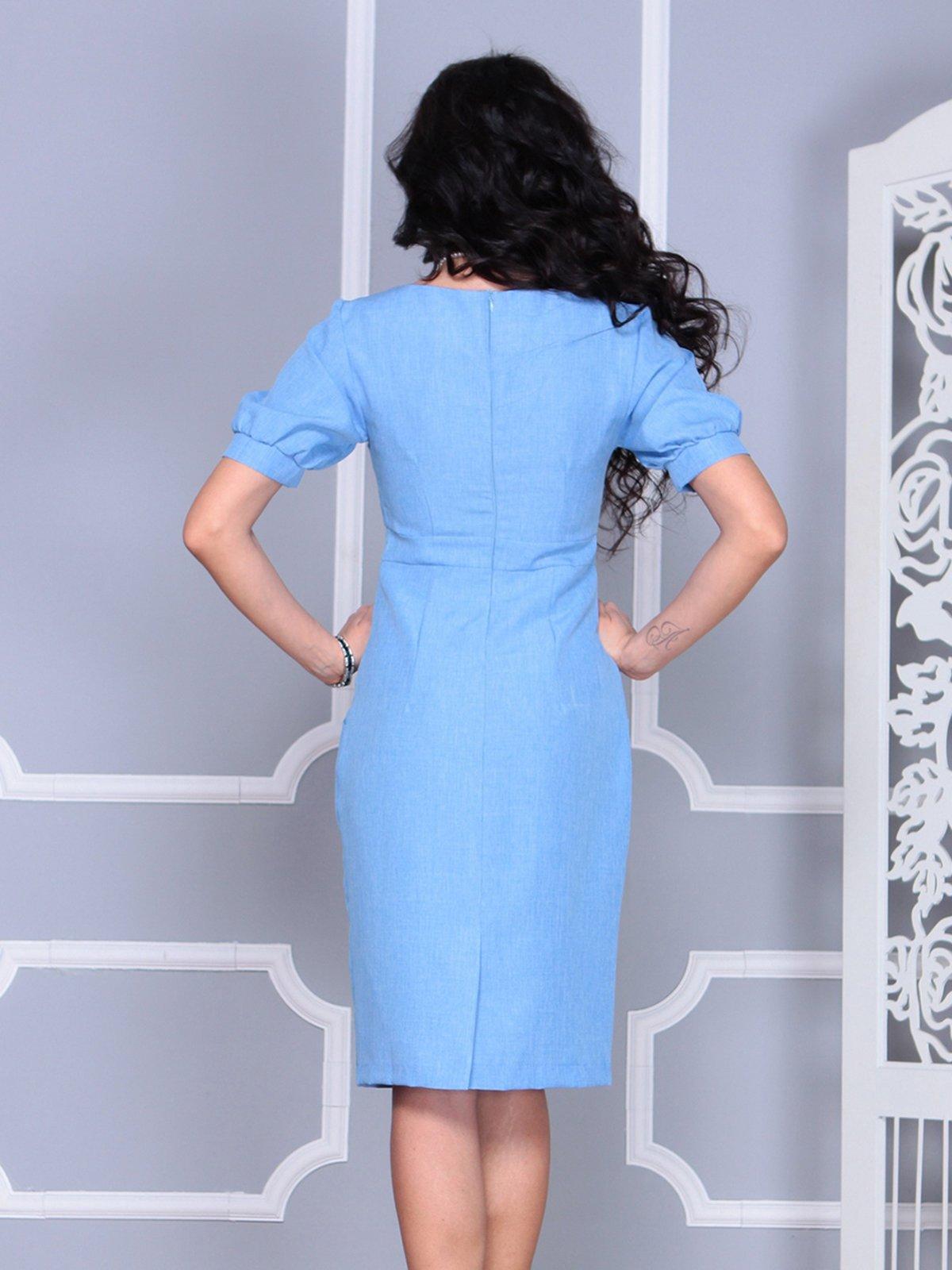 Платье голубое | 4028065 | фото 2