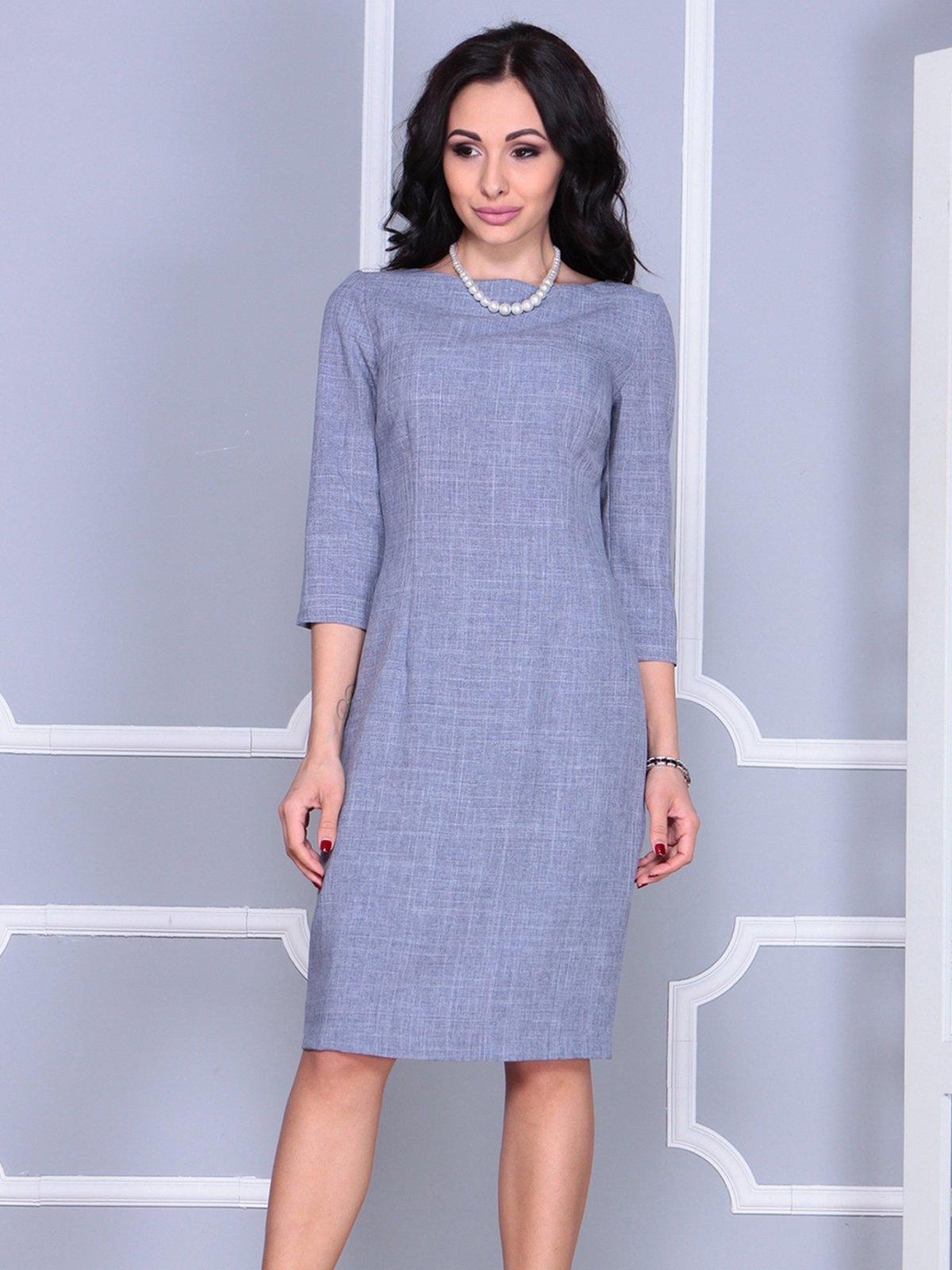 Платье цвета фиолетовой дымки | 4028071 | фото 3