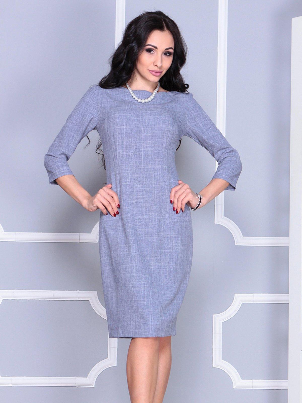 Платье цвета фиолетовой дымки | 4028071 | фото 4
