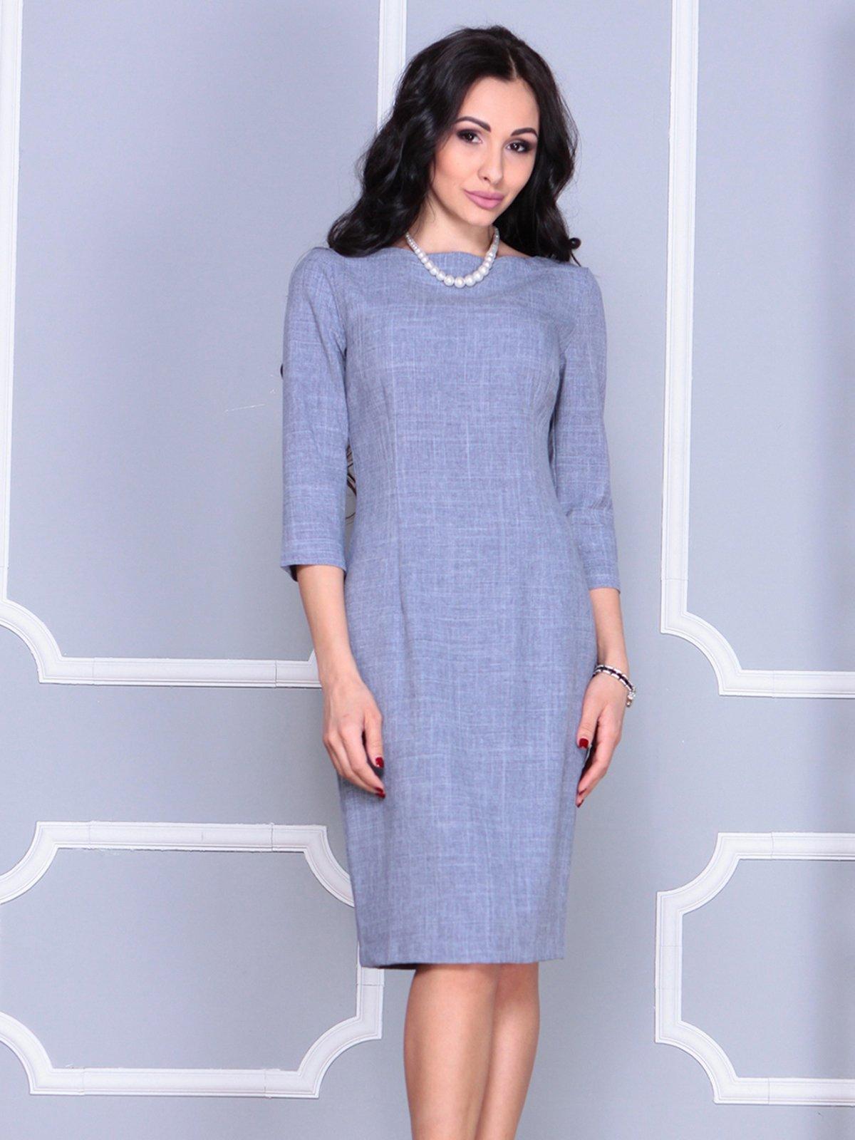 Платье цвета фиолетовой дымки | 4028071 | фото 5