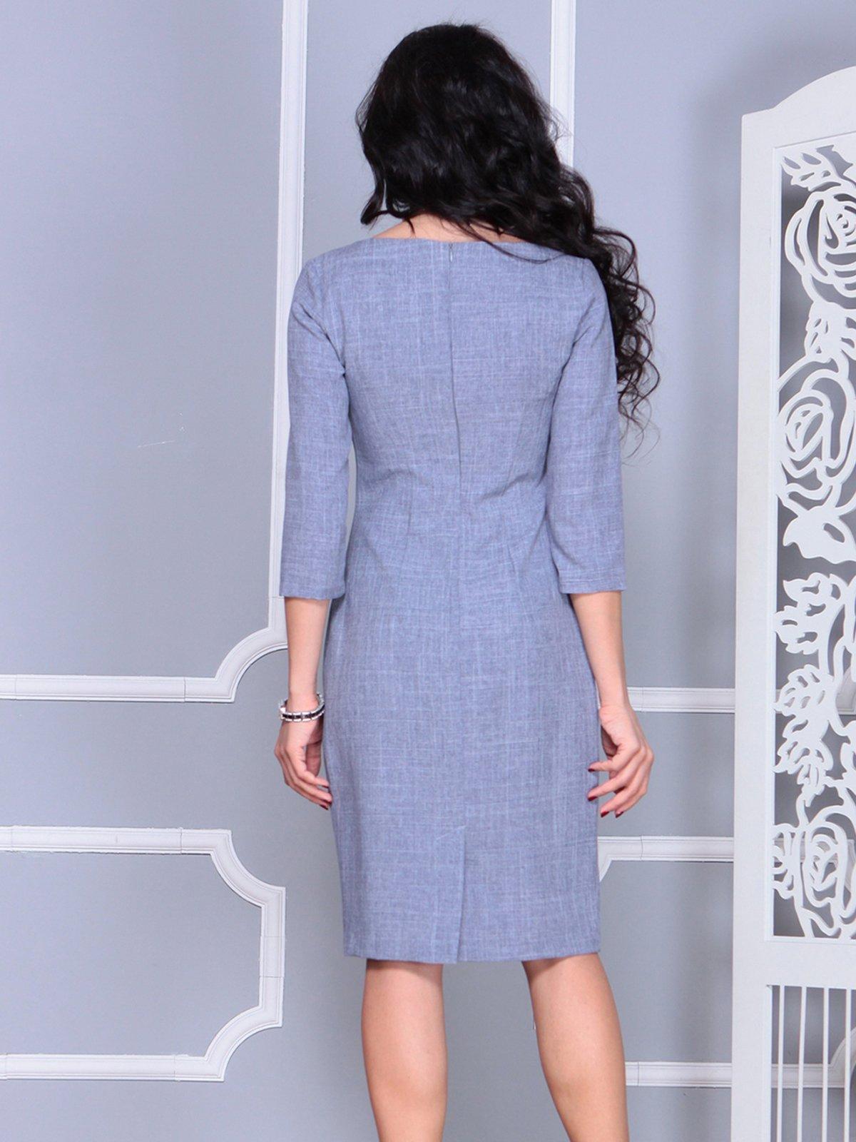 Платье цвета фиолетовой дымки | 4028071 | фото 2