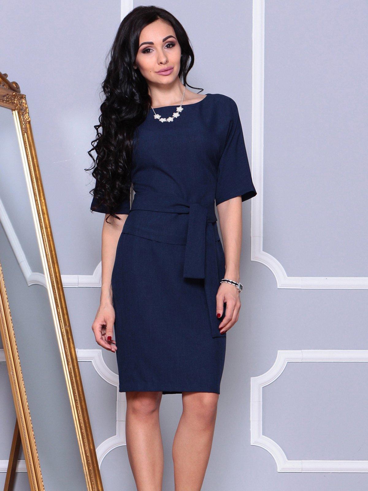 Платье темно-синее   4028083