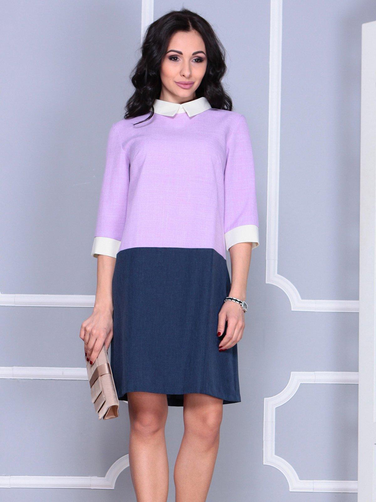 Платье фиалково-синее | 4028096 | фото 3