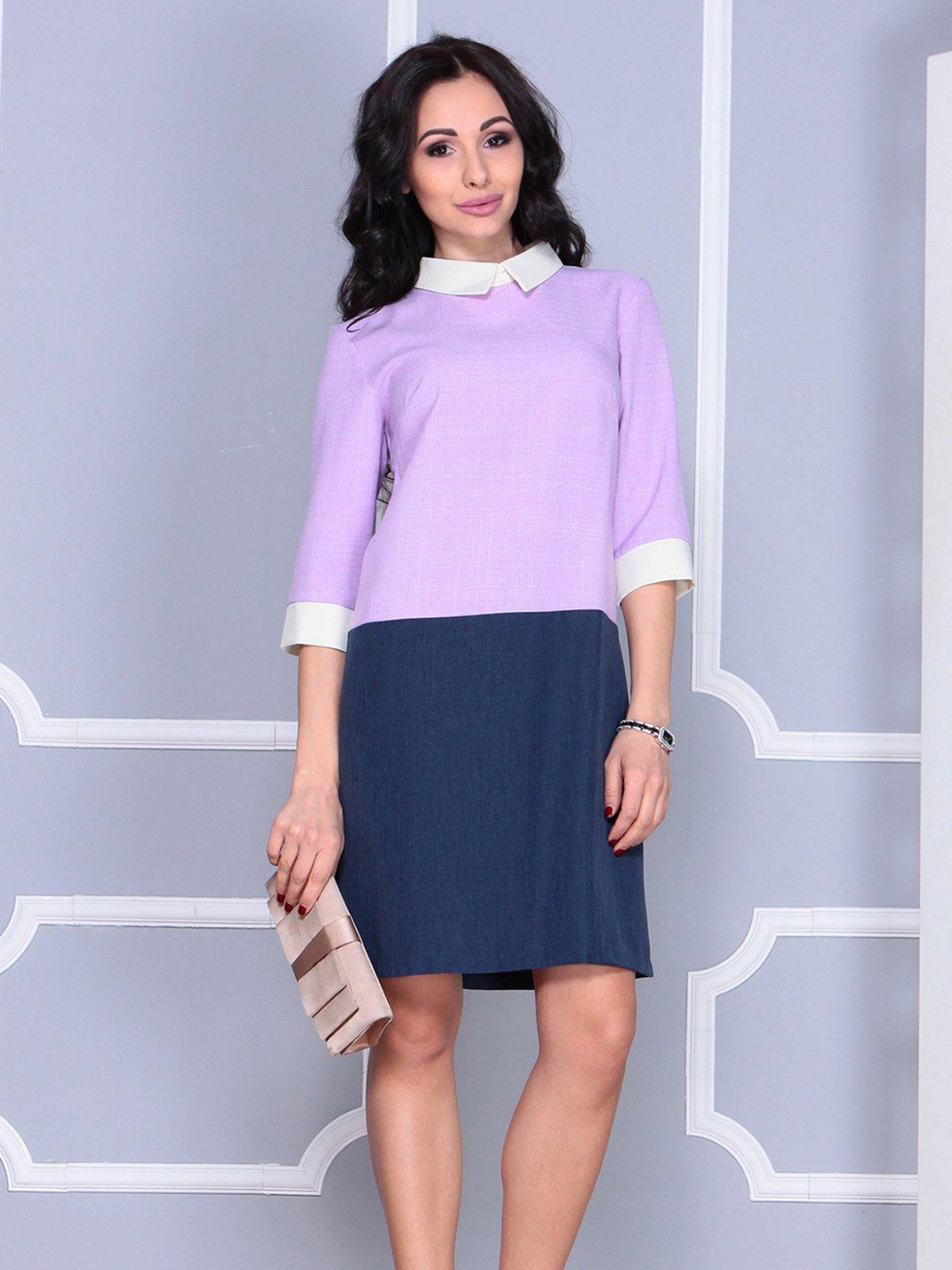 Платье фиалково-синее | 4028096