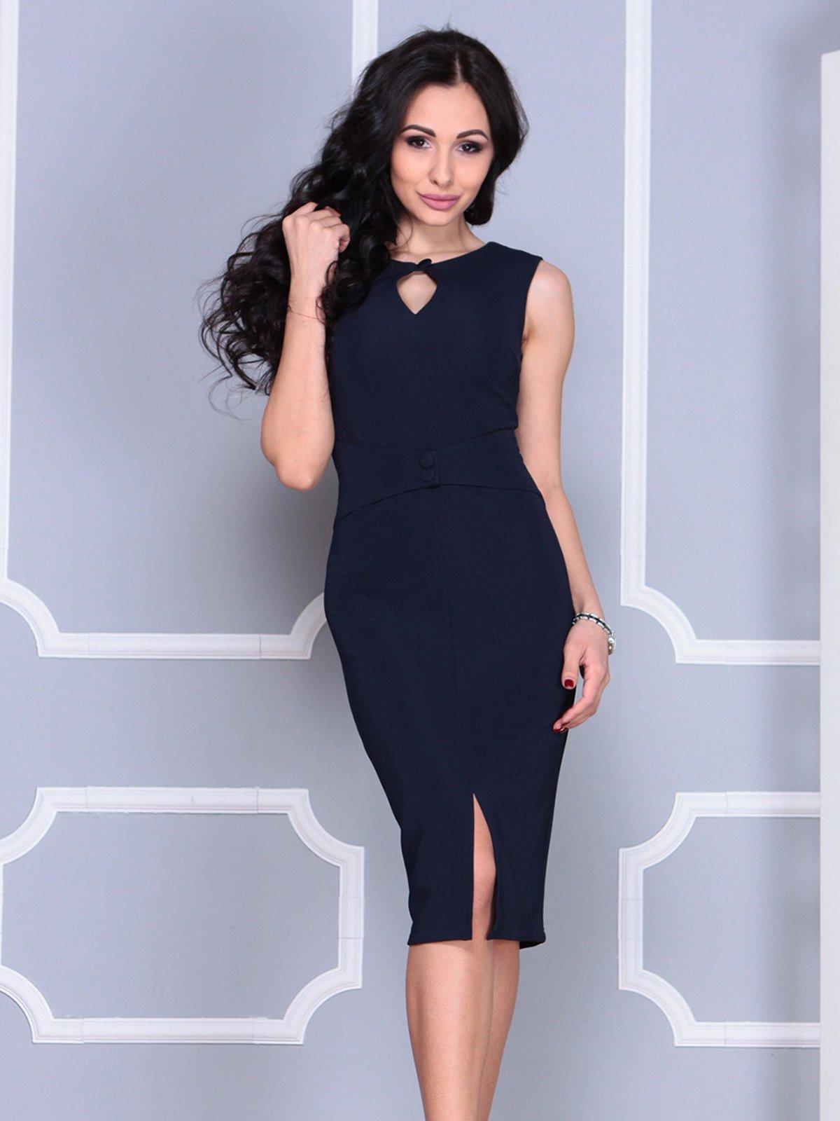 Платье темно-синее   4028099   фото 3