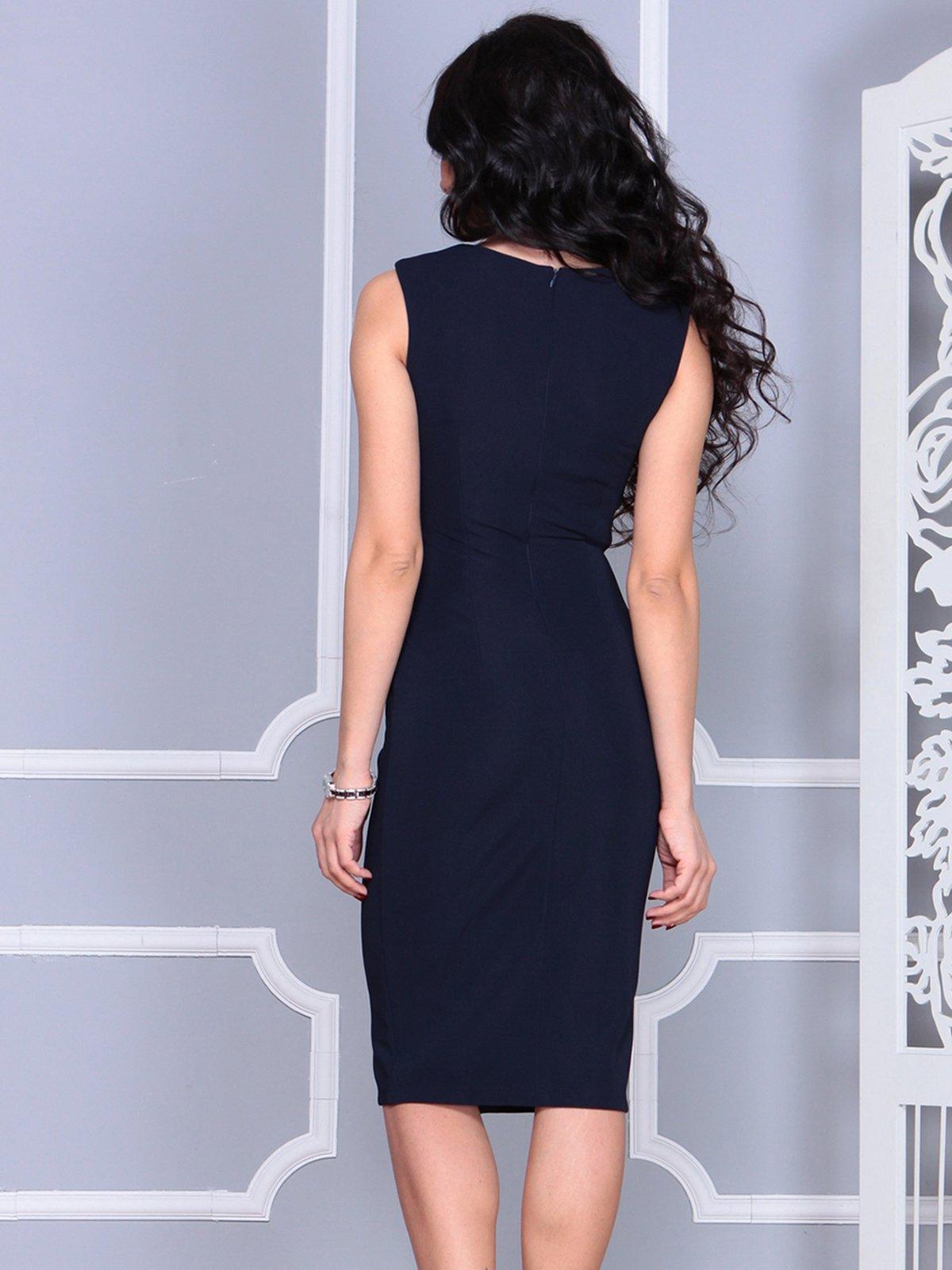 Платье темно-синее   4028099   фото 2