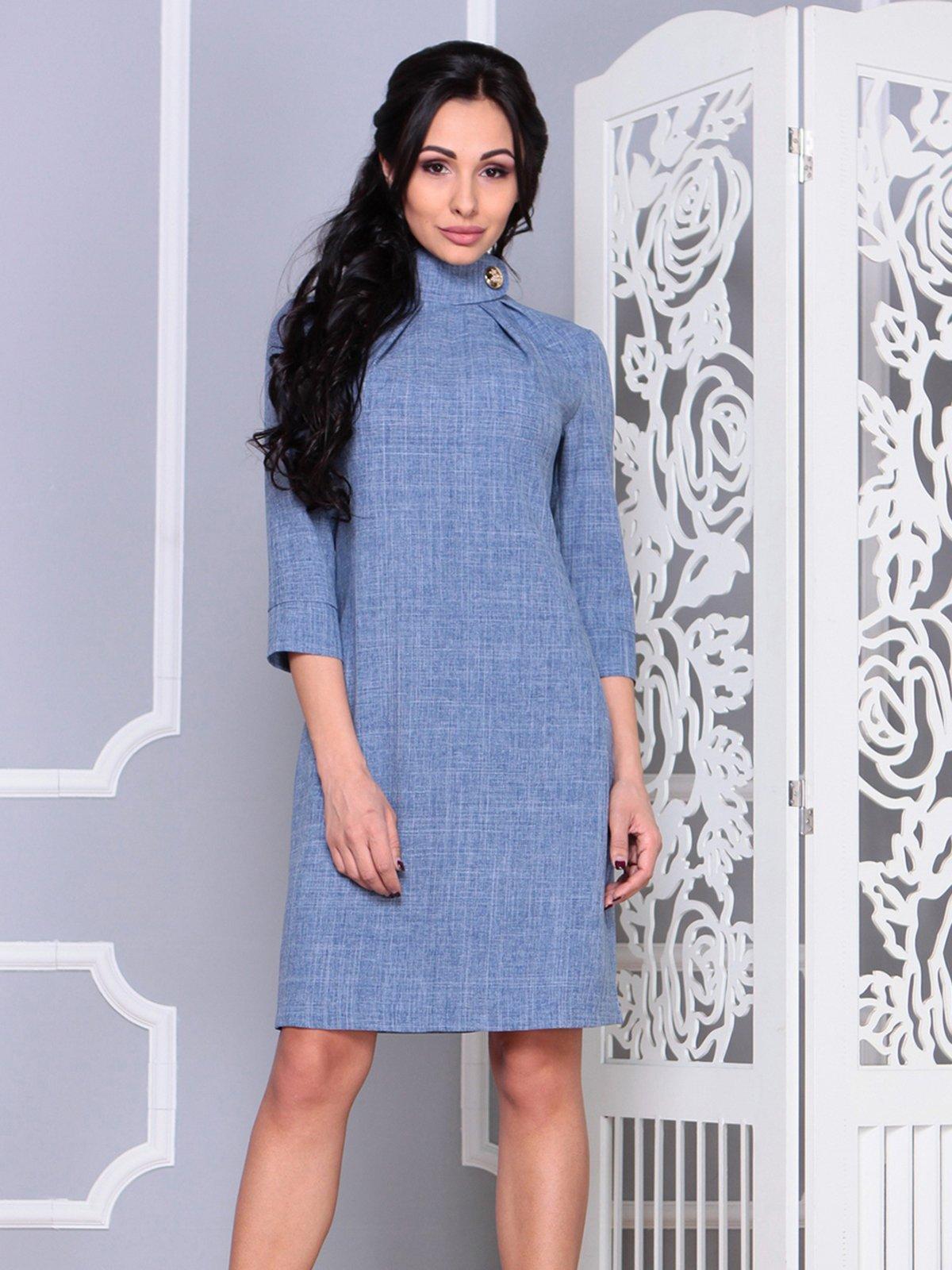 Платье цвета джинса | 4028107