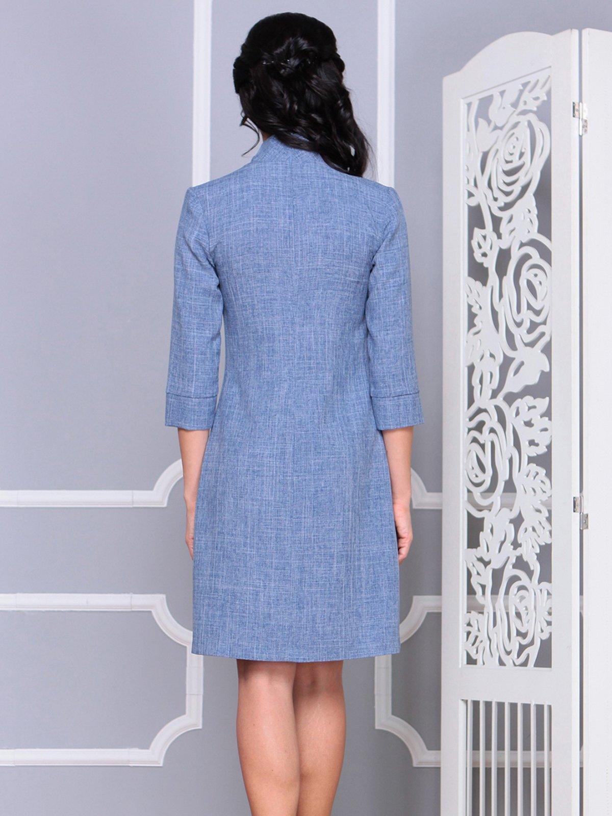 Платье цвета джинса | 4028107 | фото 2