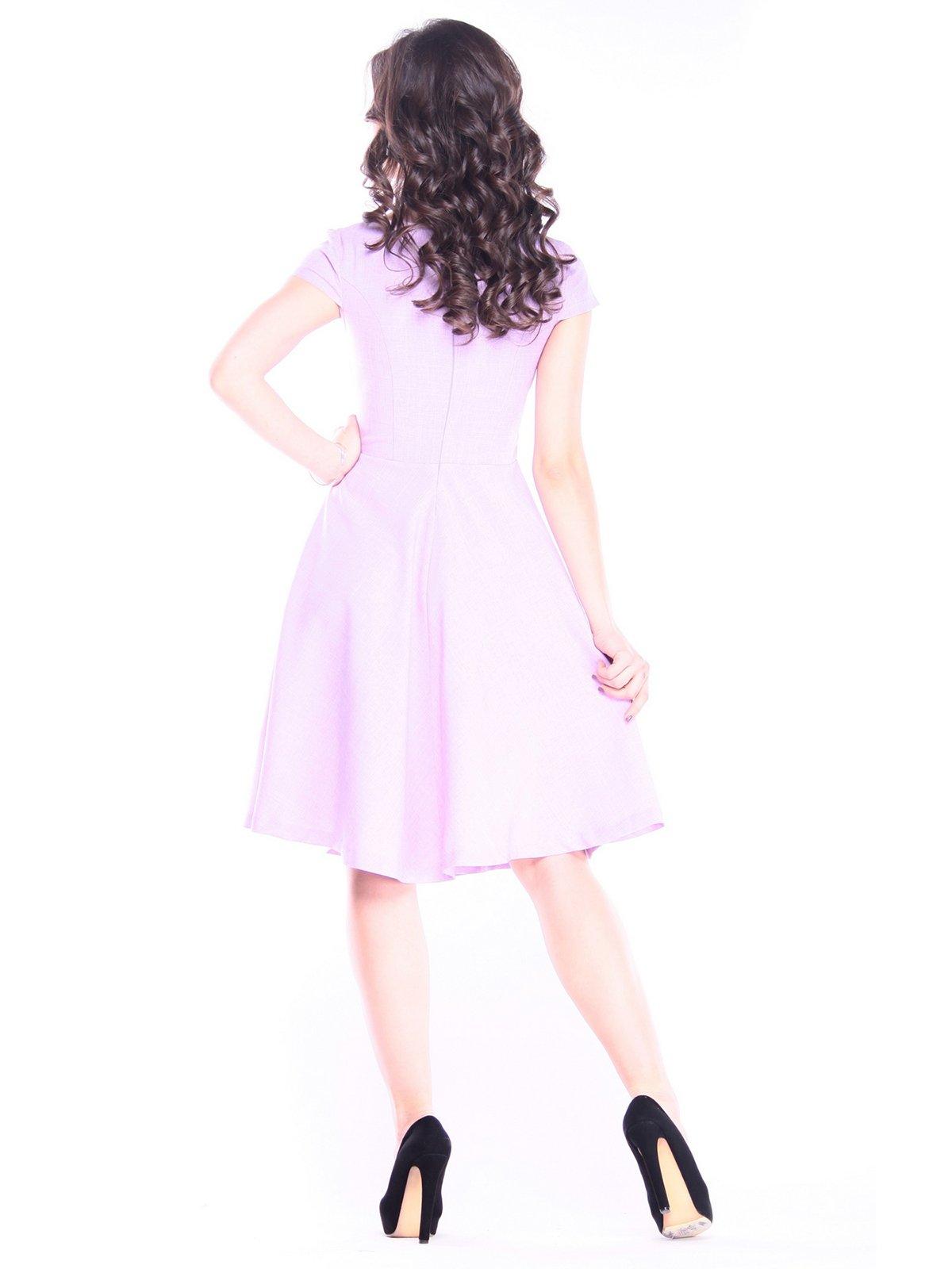 Платье светло-фиалковое | 4028110 | фото 6