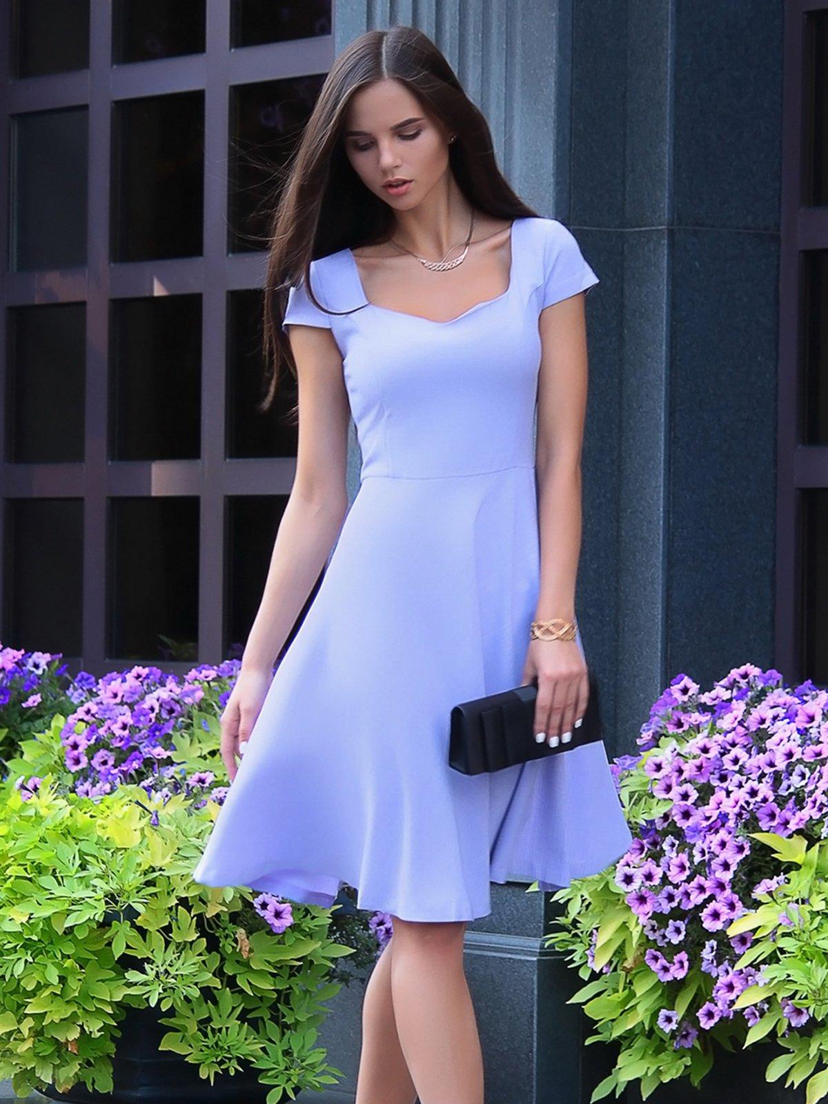 Платье светло-фиалковое | 4028110