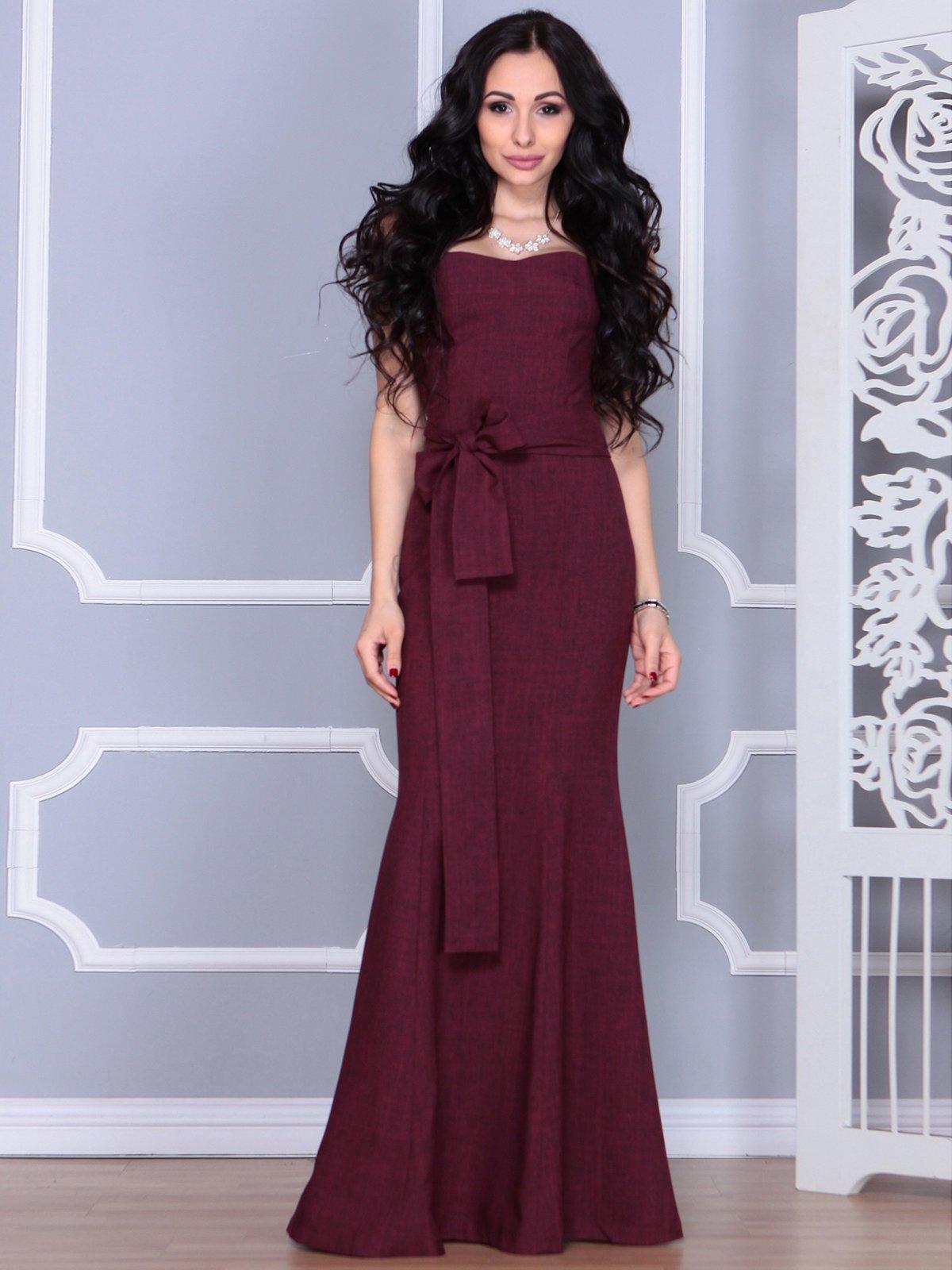 Платье сливовое | 4028112