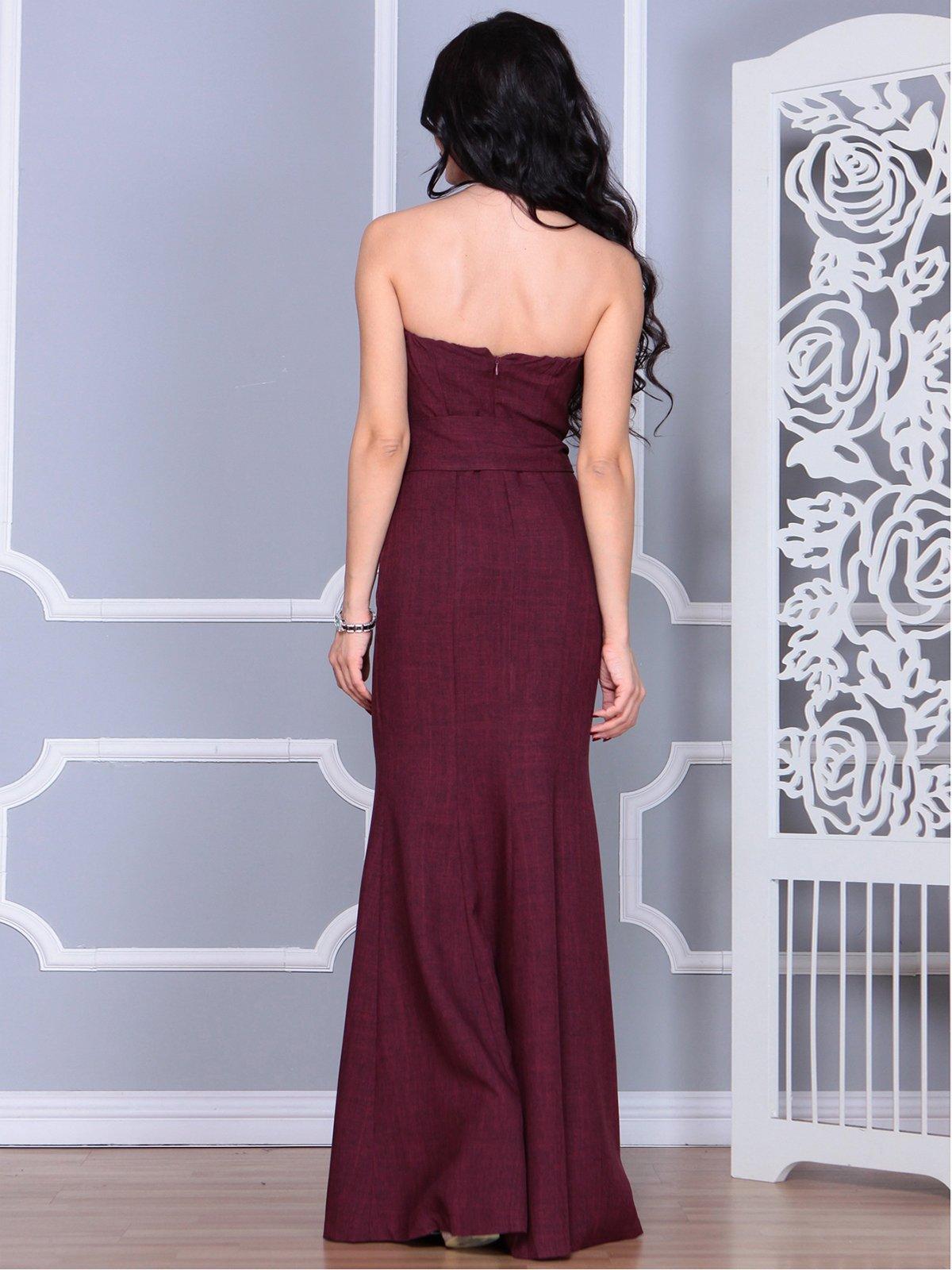 Платье сливовое | 4028112 | фото 2