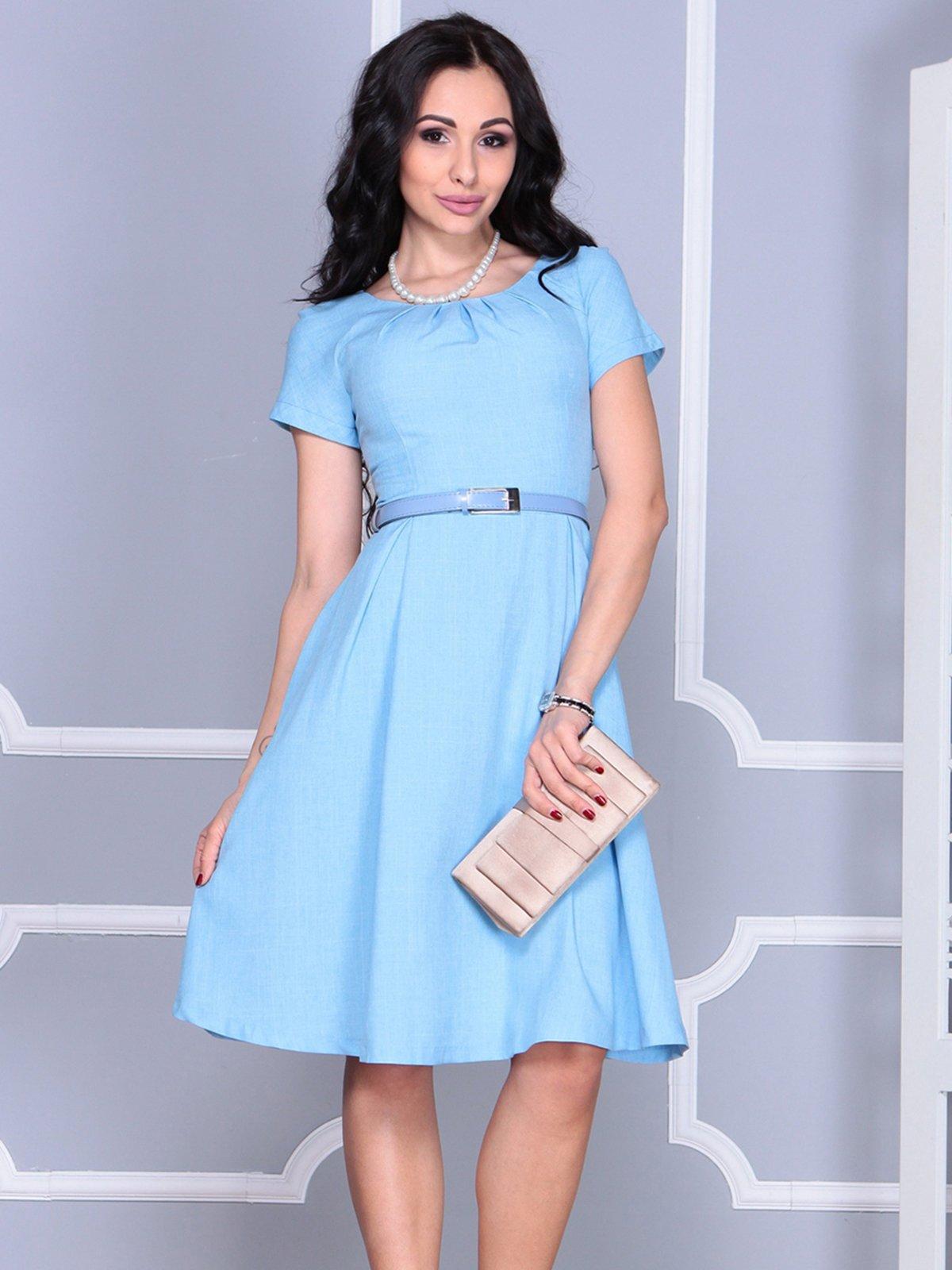 Сукня блакитна | 4028119