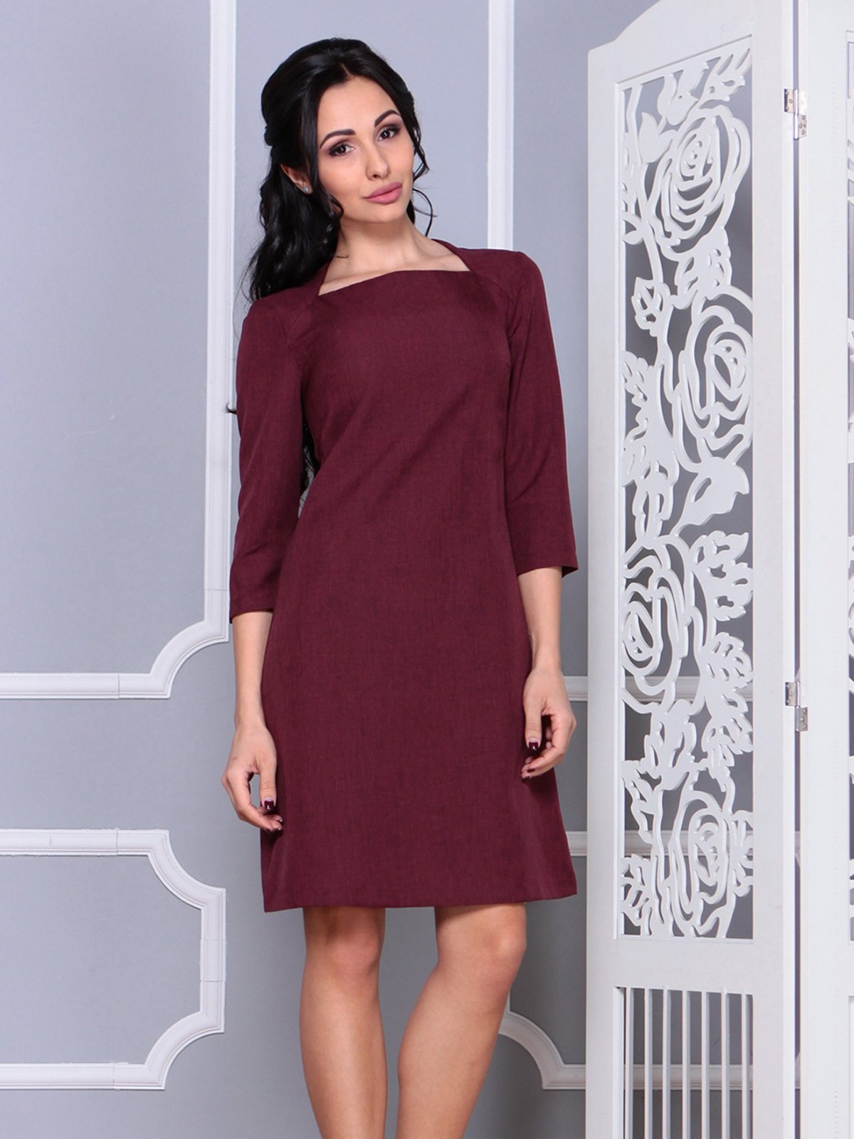 Платье сливовое   4028123   фото 3