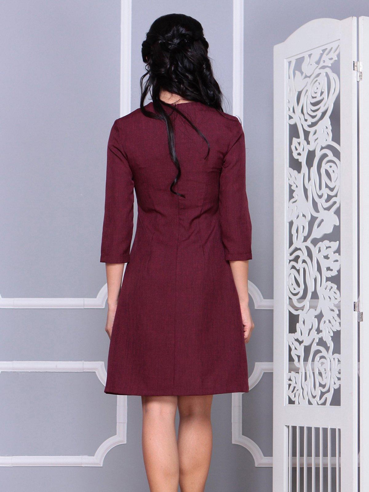 Платье сливовое   4028123   фото 2