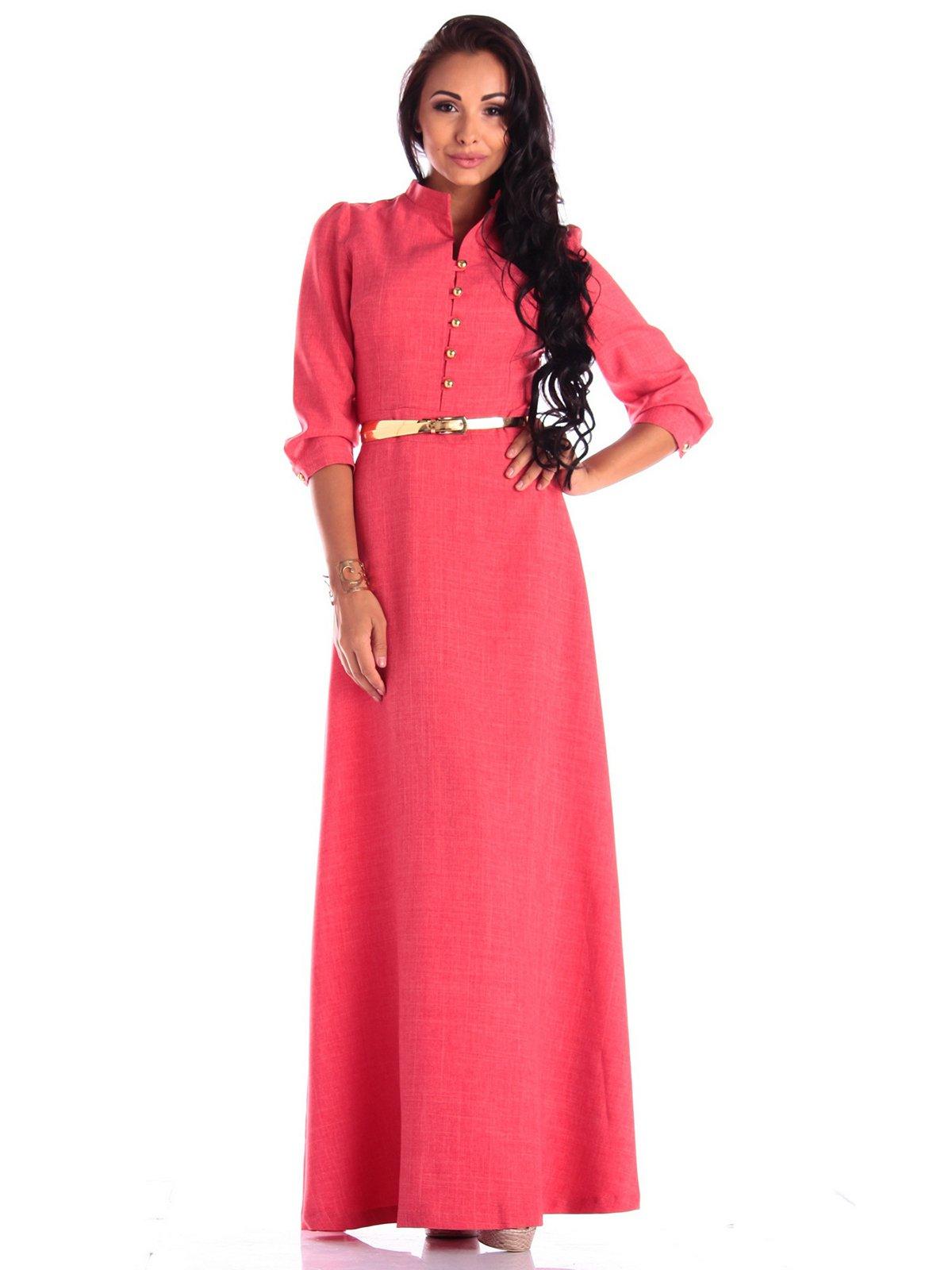 Платье цвета красный коралл   4042182