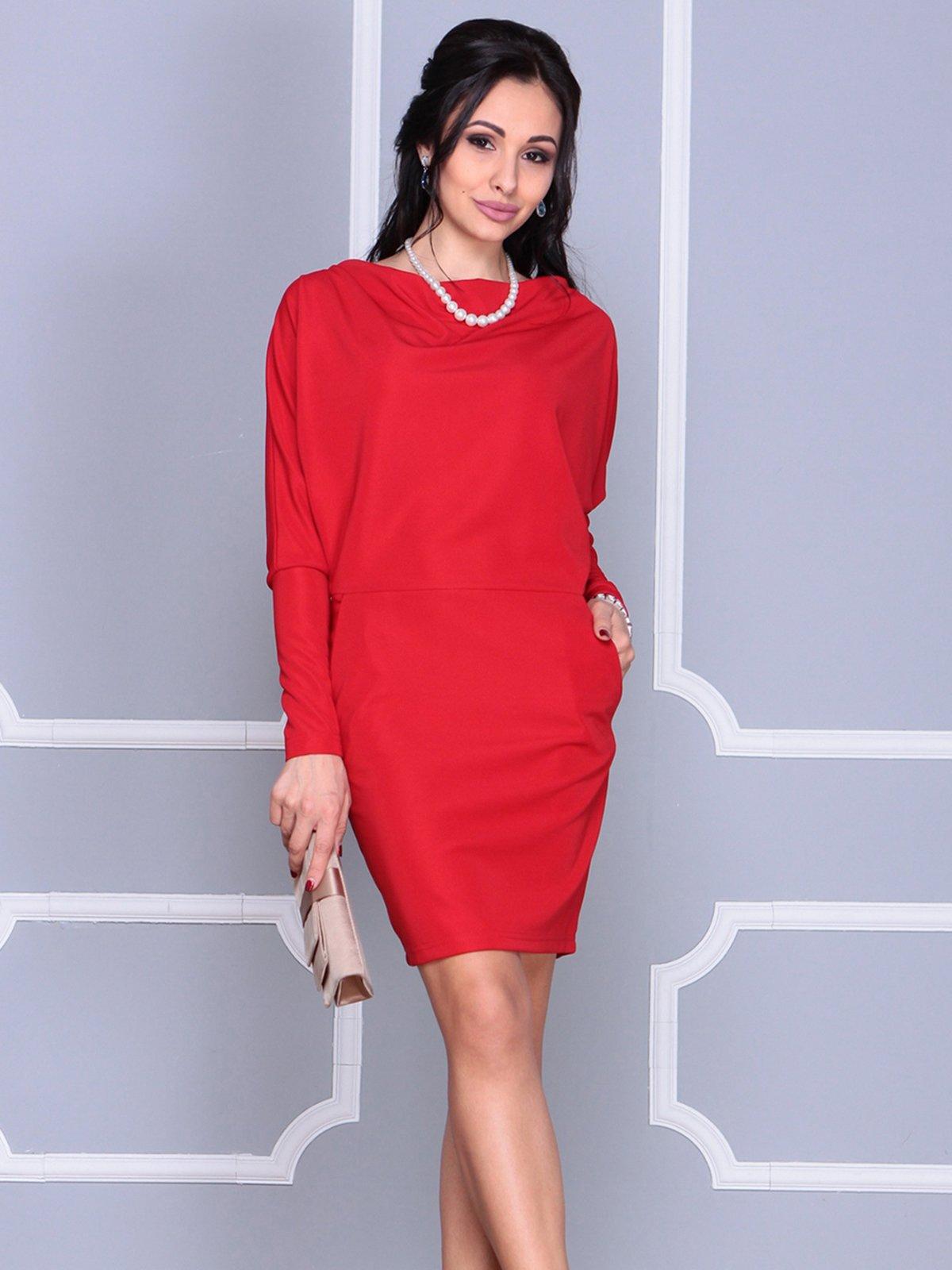 Платье красное | 4042183