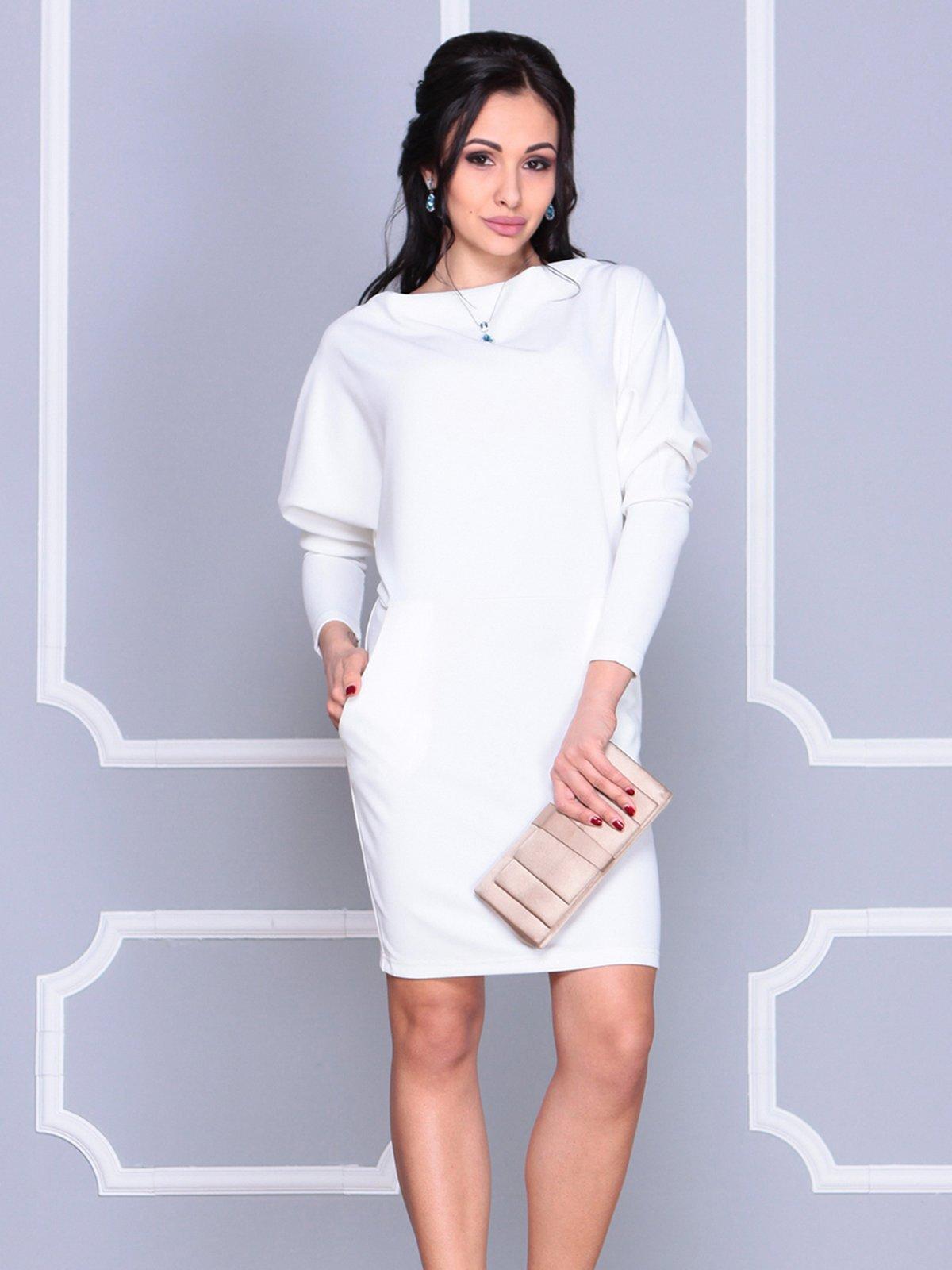 Платье молочного цвета | 4042194