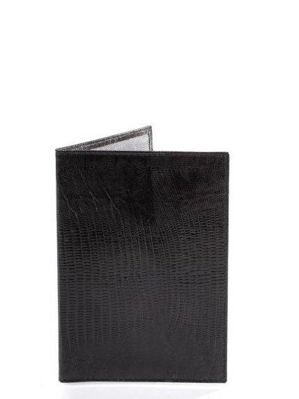 Обкладинка для паспорта чорна | 4033480