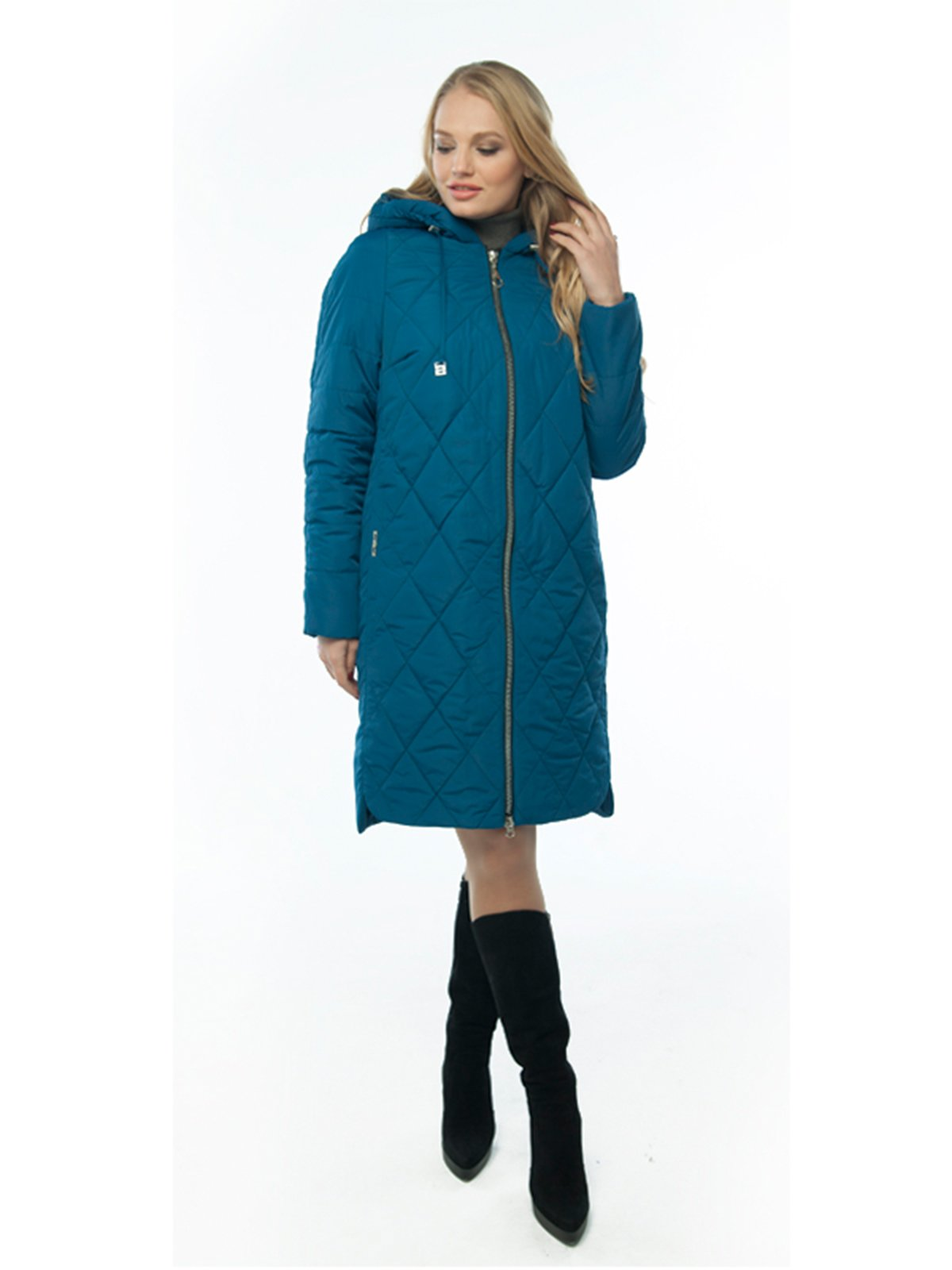 Пальто синє | 4022948