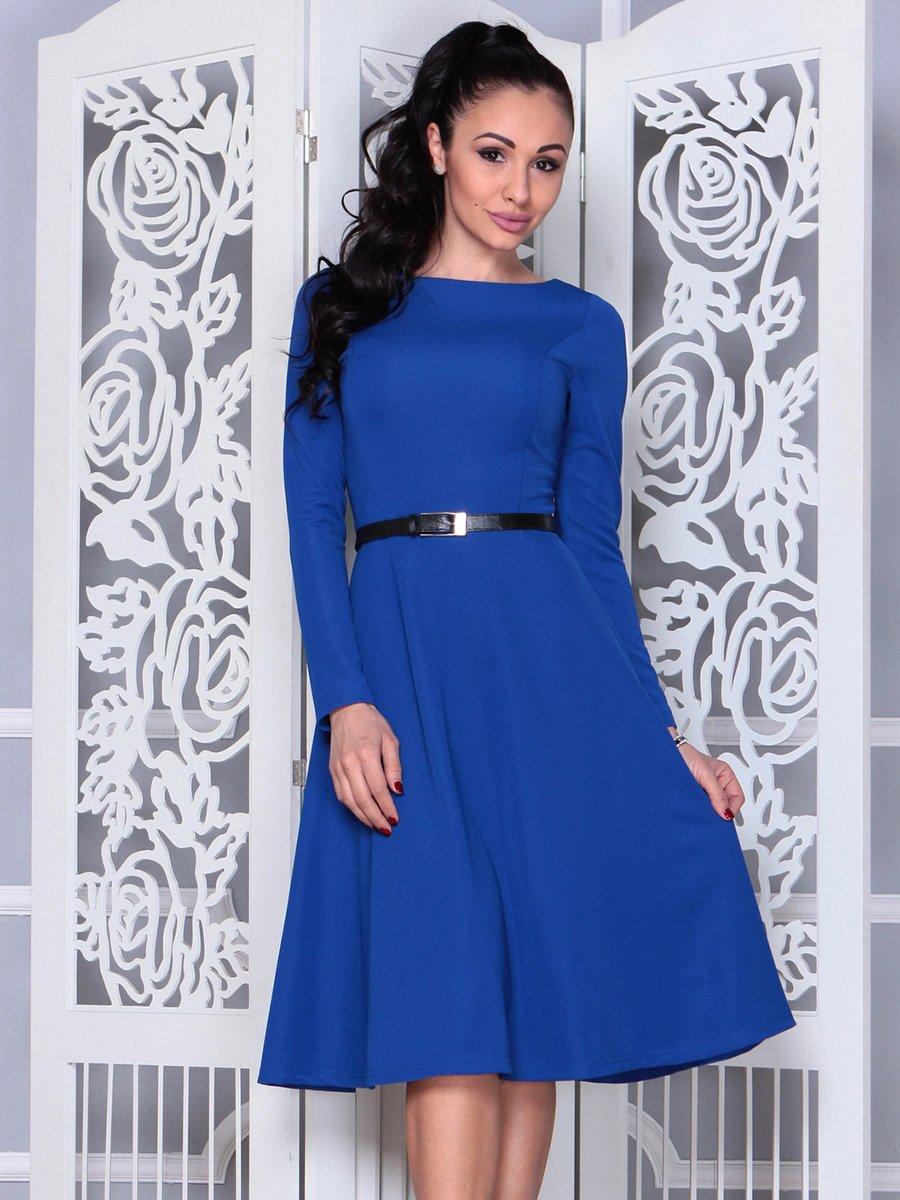 Платье цвета электрик | 4022475