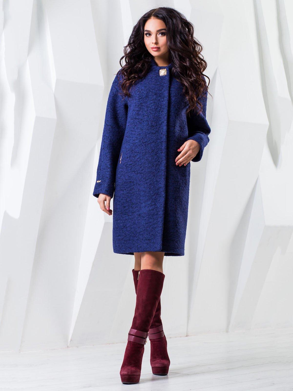 Пальто темно-синее   3893121
