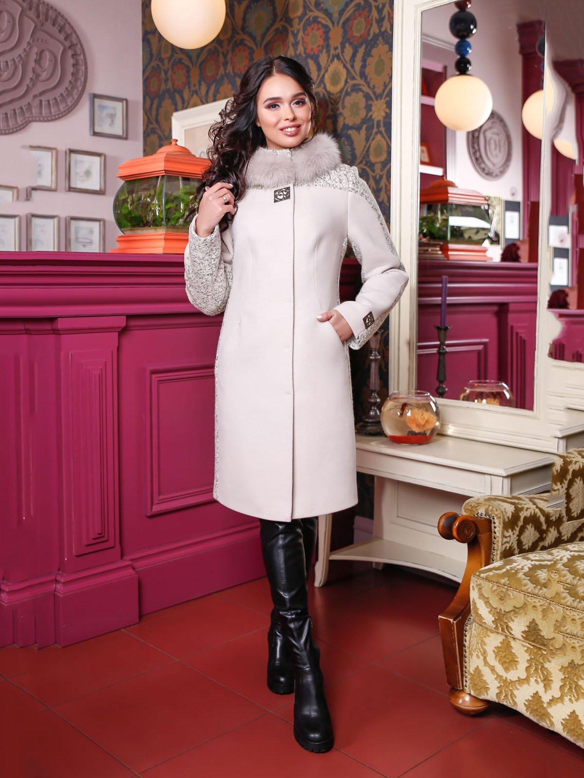 Пальто белое   4052207
