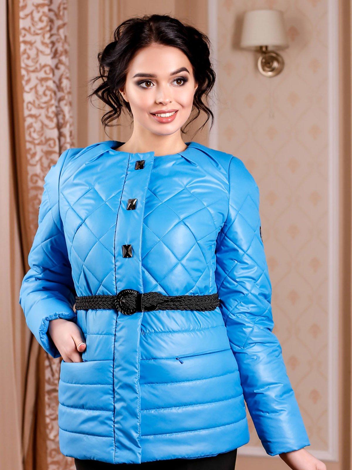 Куртка голубая   4052219