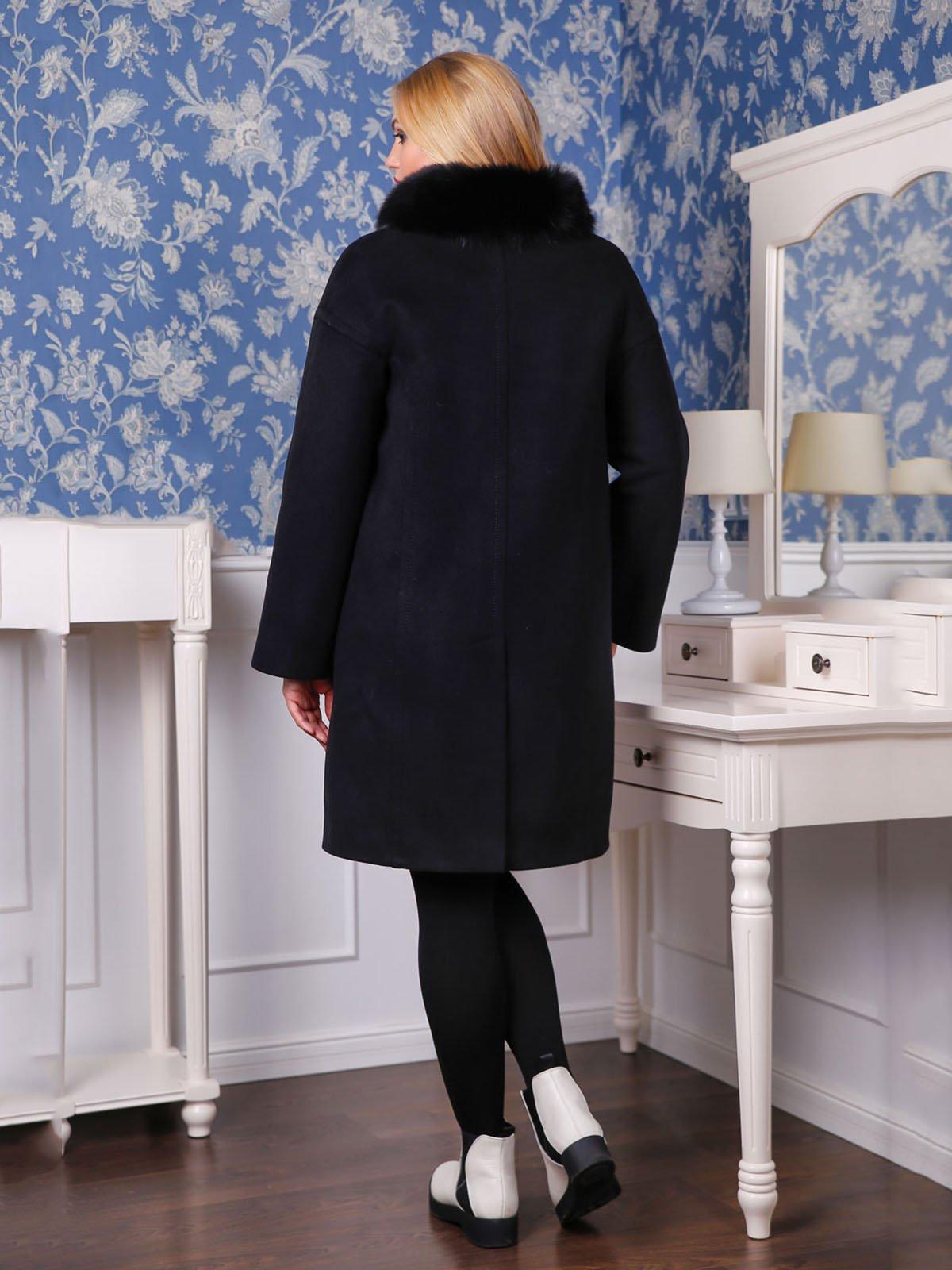 Пальто черное | 4052239 | фото 2
