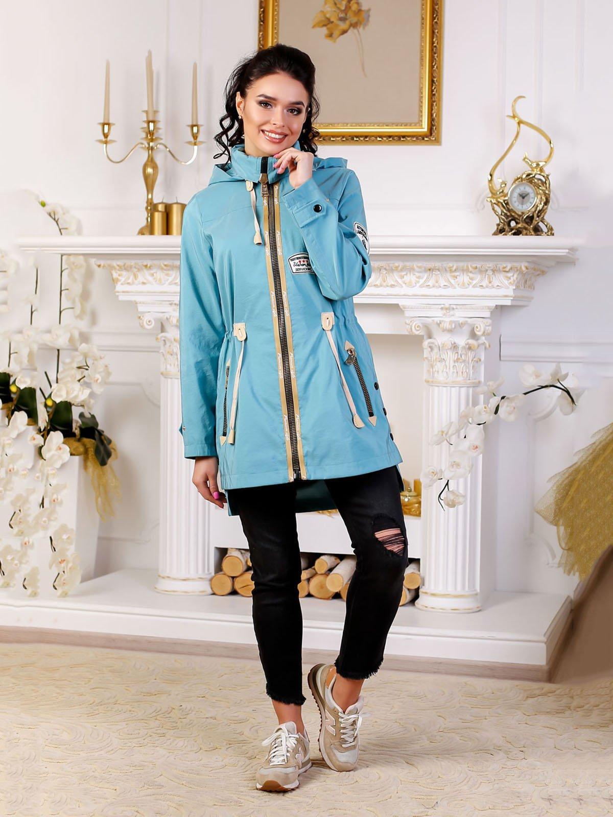 Куртка блідо-бірюзова   4052258
